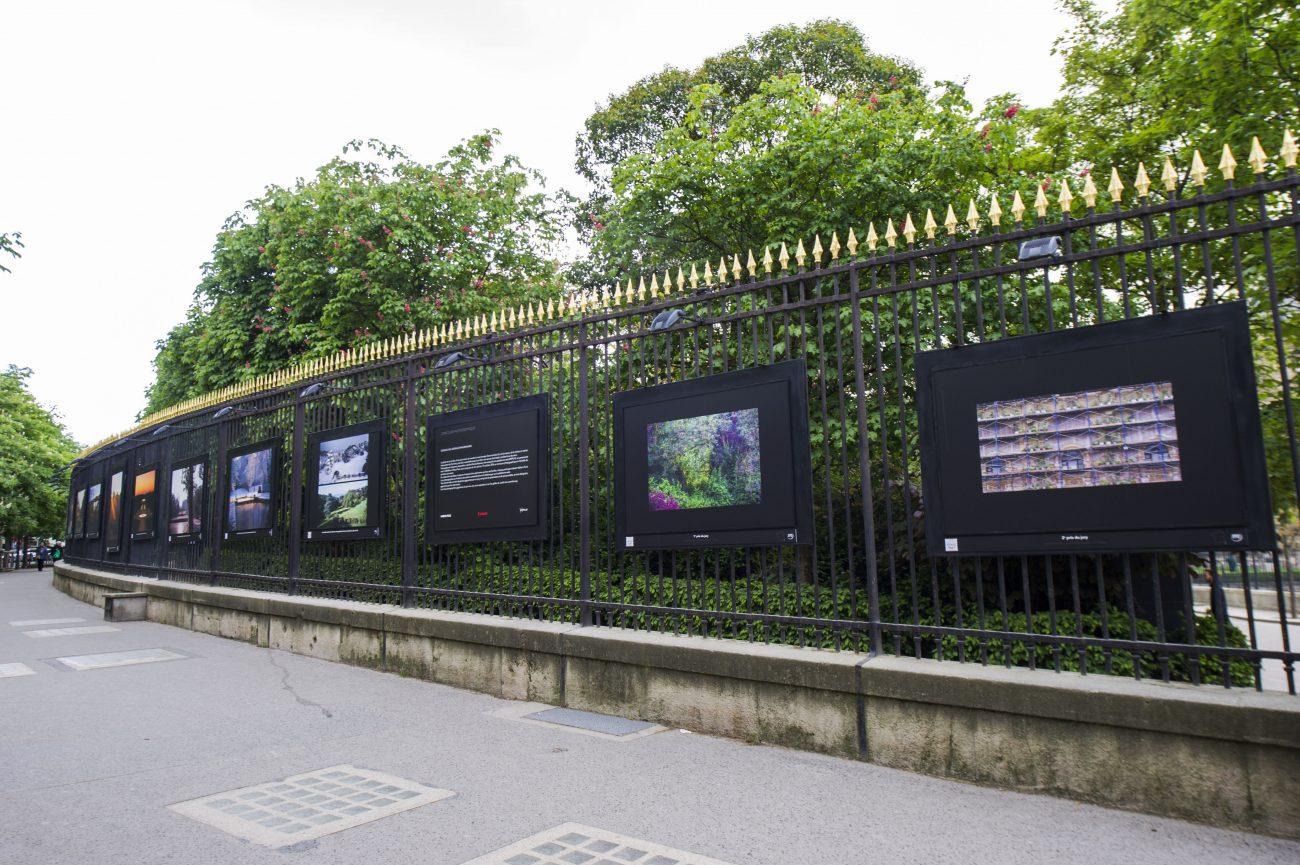 Les laur ats wipplay accroch s aux grilles du luxembourg - Exposition jardin du luxembourg ...
