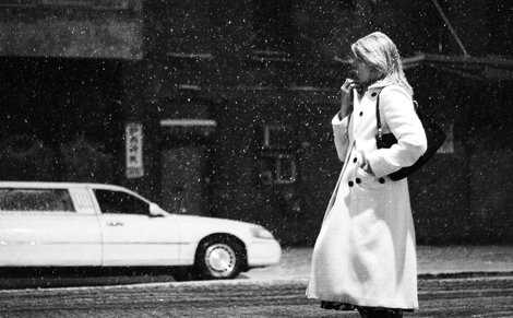 A WOMAN IN THE CITY