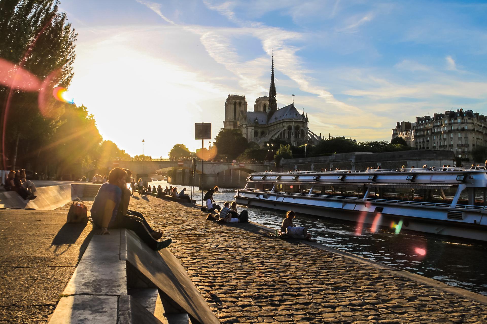 Après-midi sur la Seine