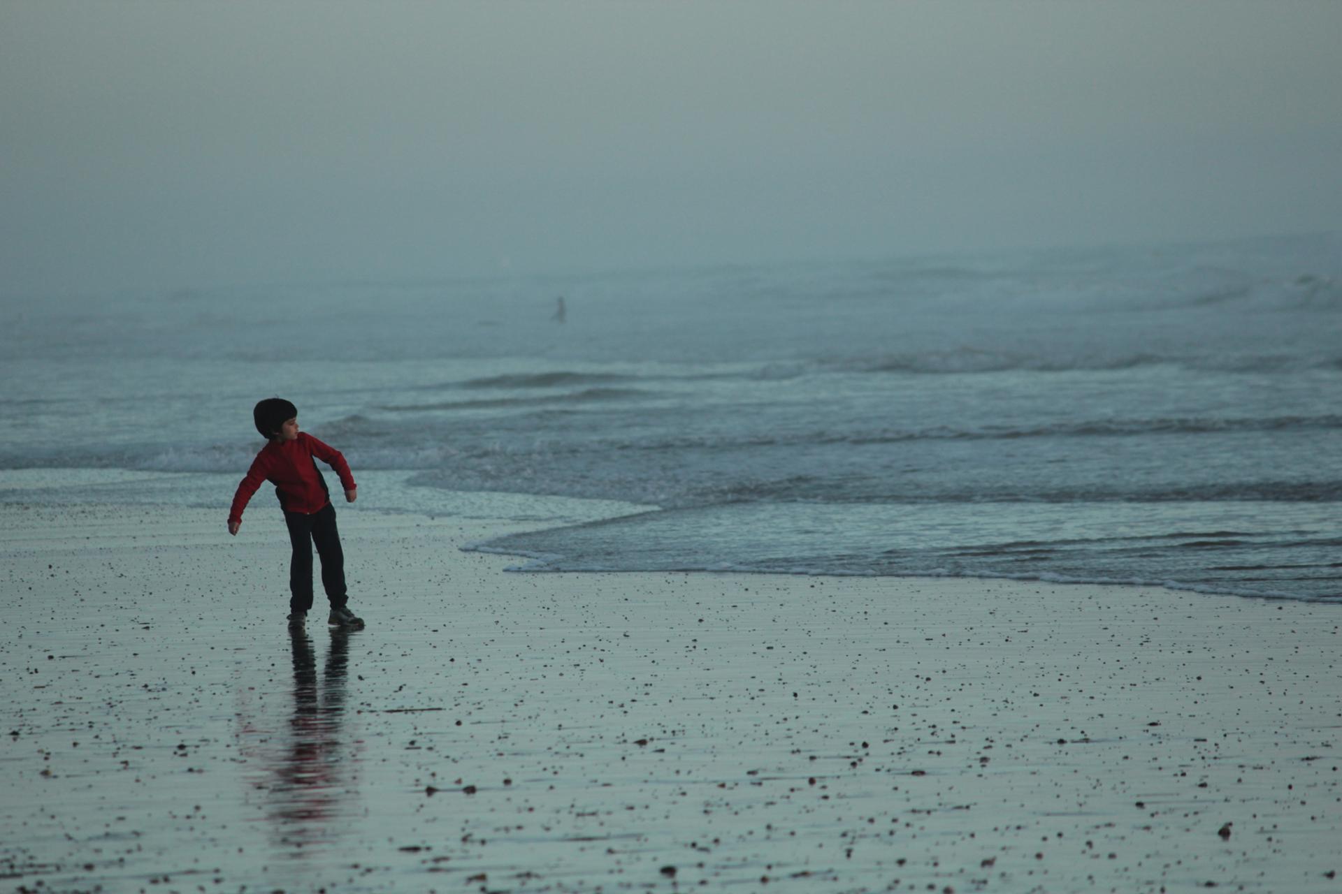 Rouge sur mer
