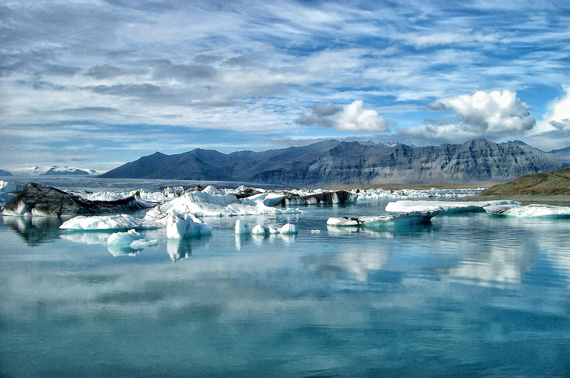 De glace et d'eau...(Jokulsarlon, Islande)