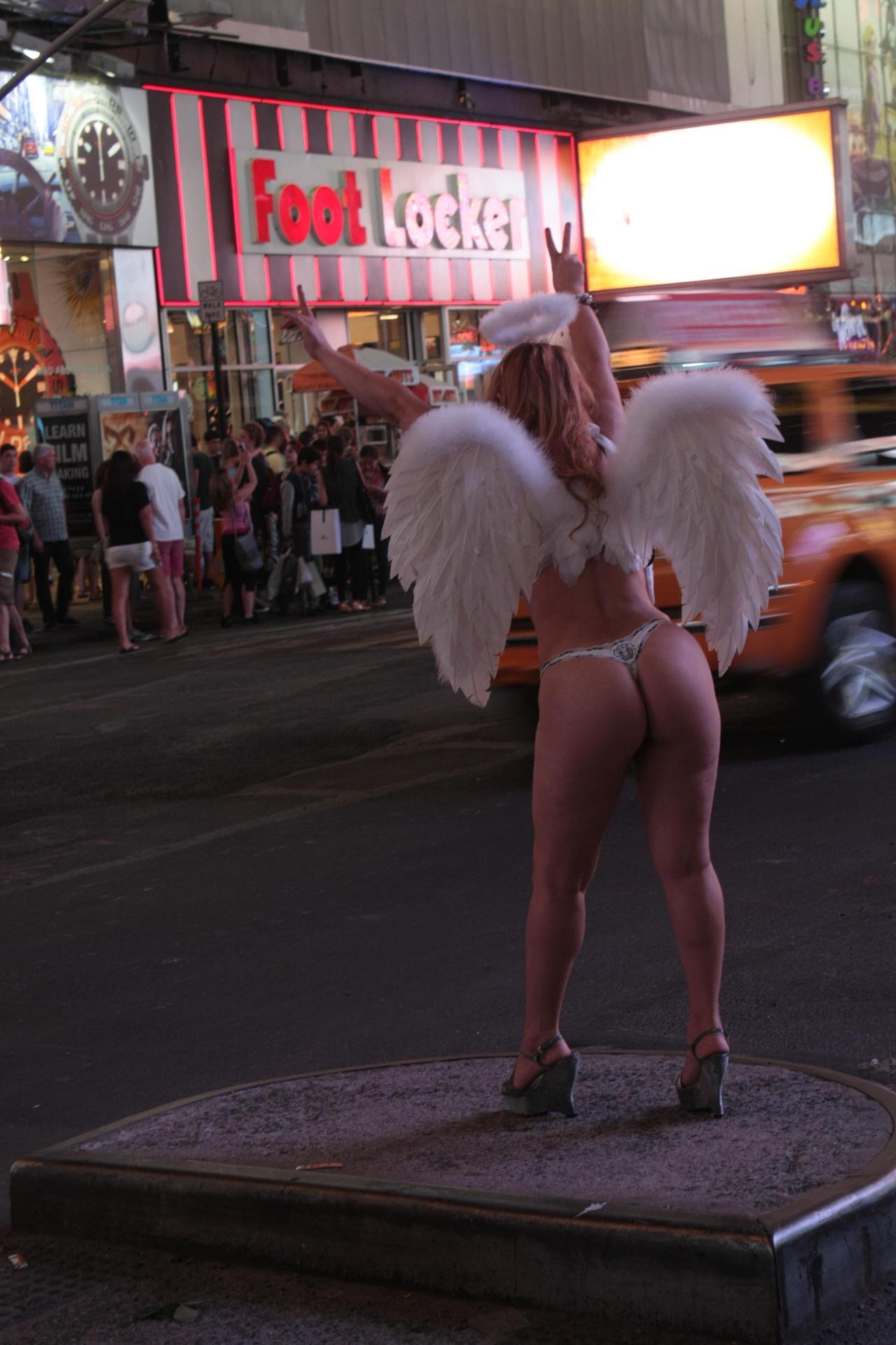I saw an angel...