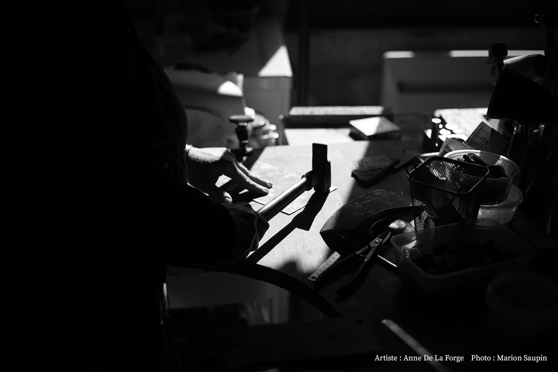 Dans l'atelier de Anne De La Forge