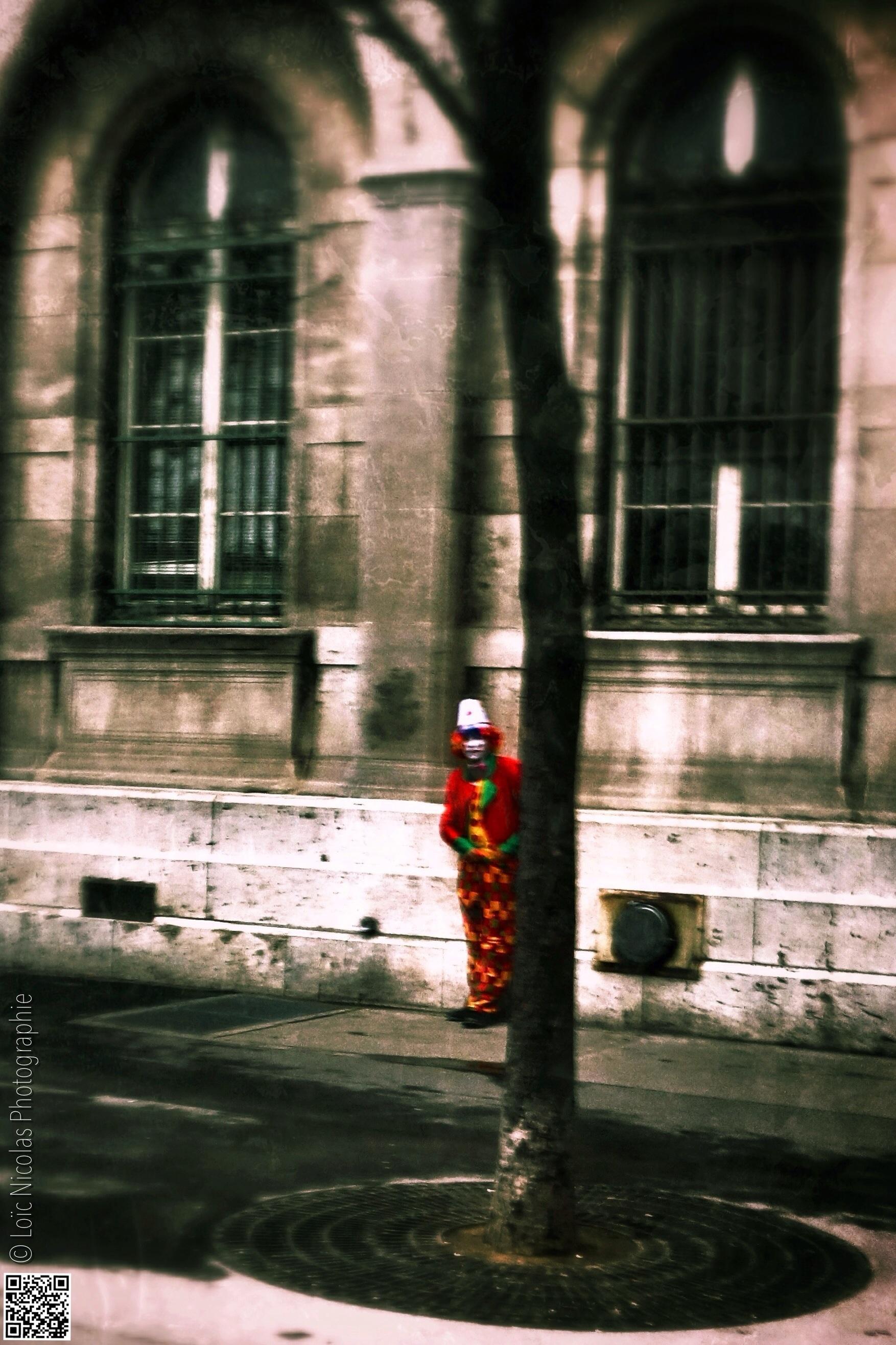 Un clown repéré
