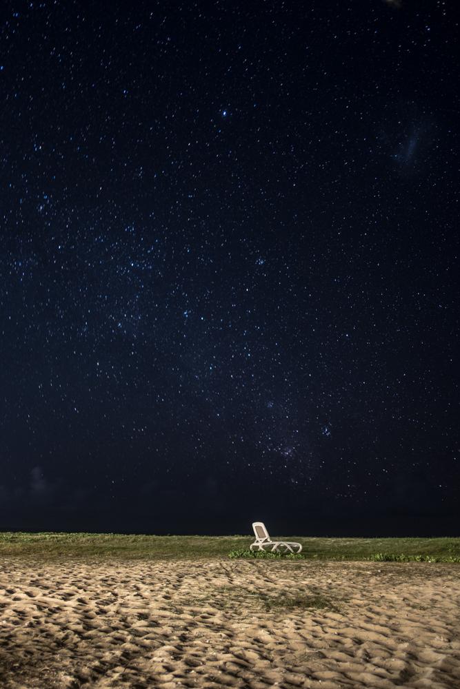 Sea, stars & sky