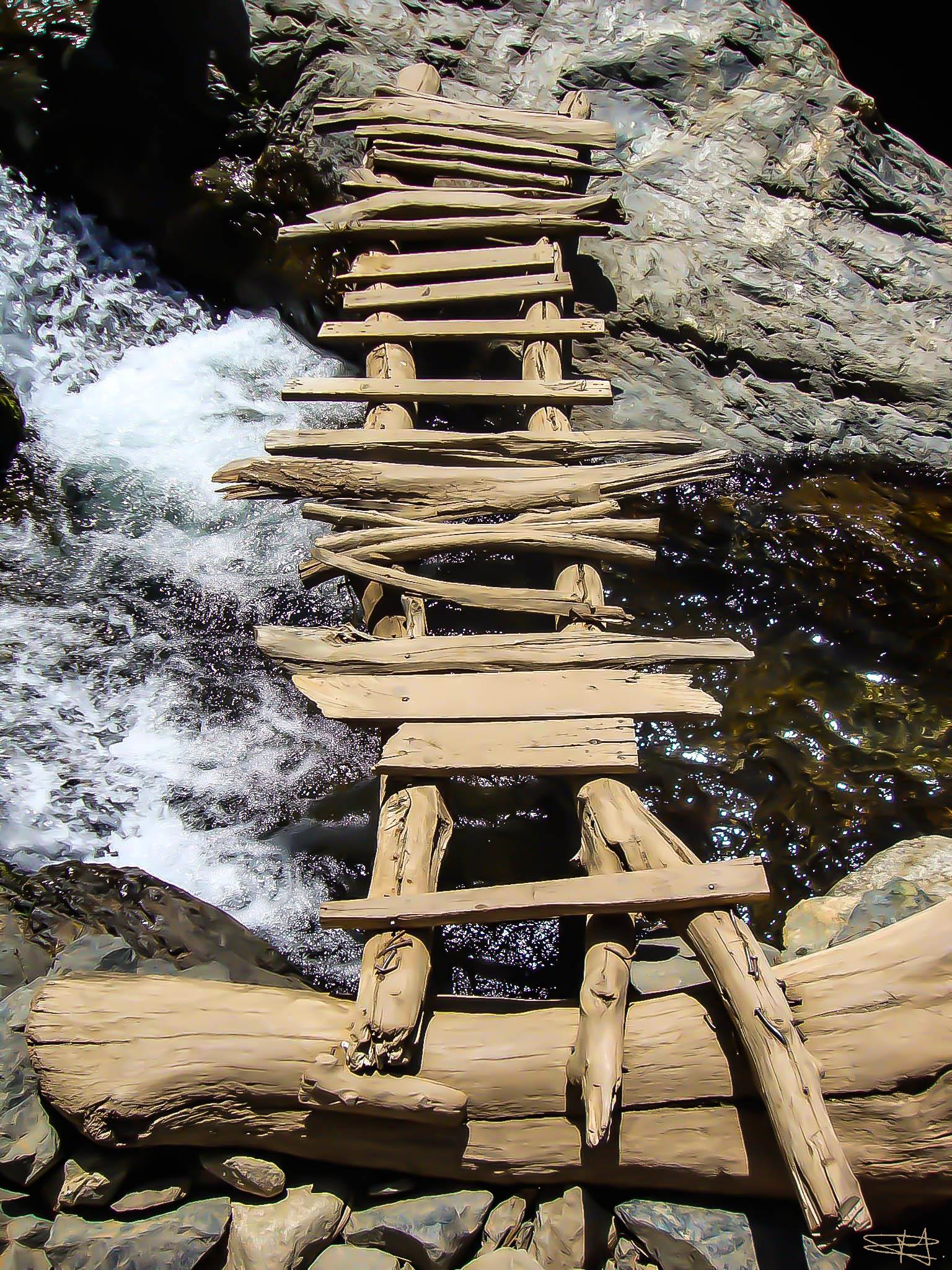 Pont Dans La Vallée De L'Ourika