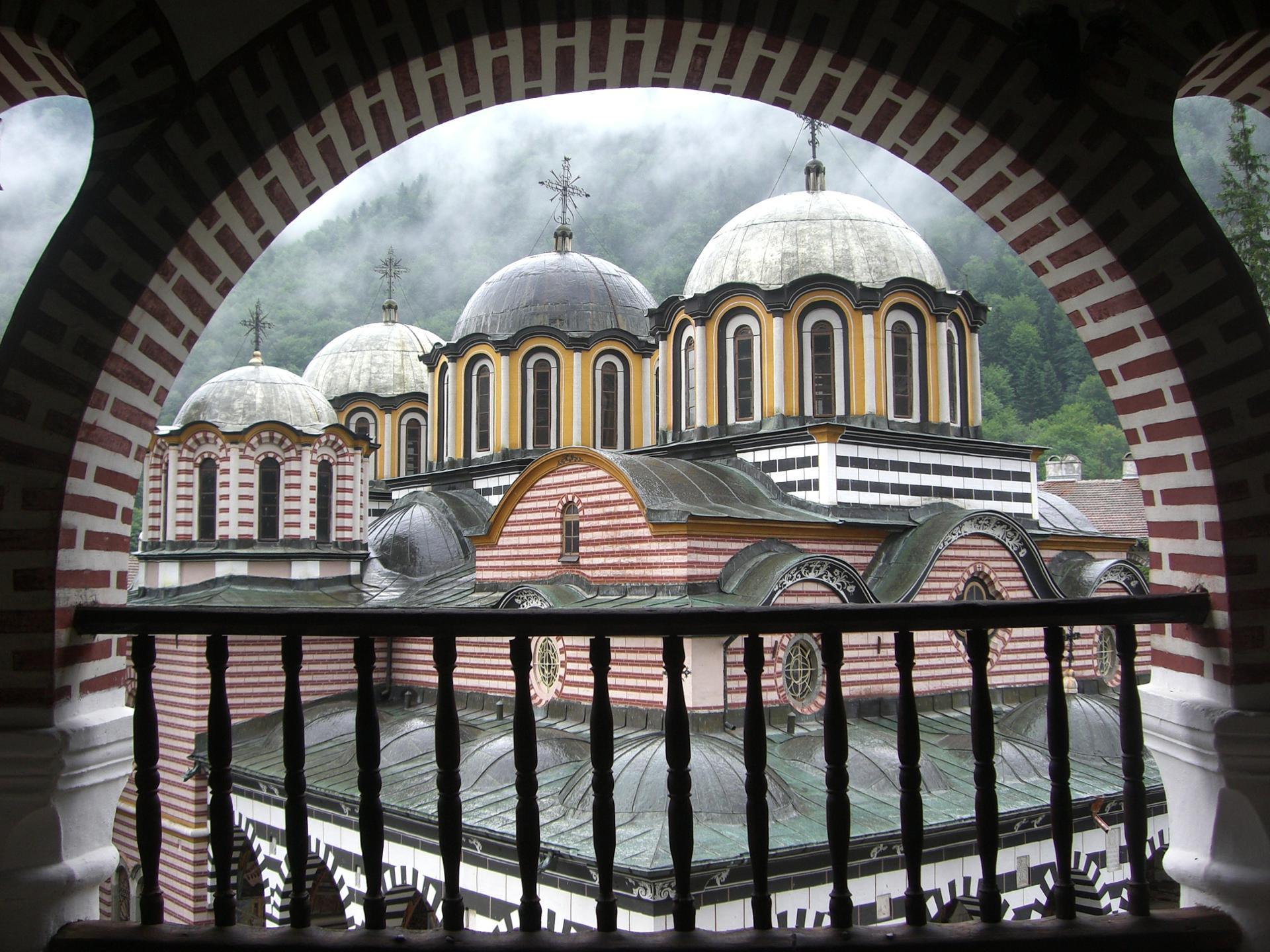 Window of the Monastery
