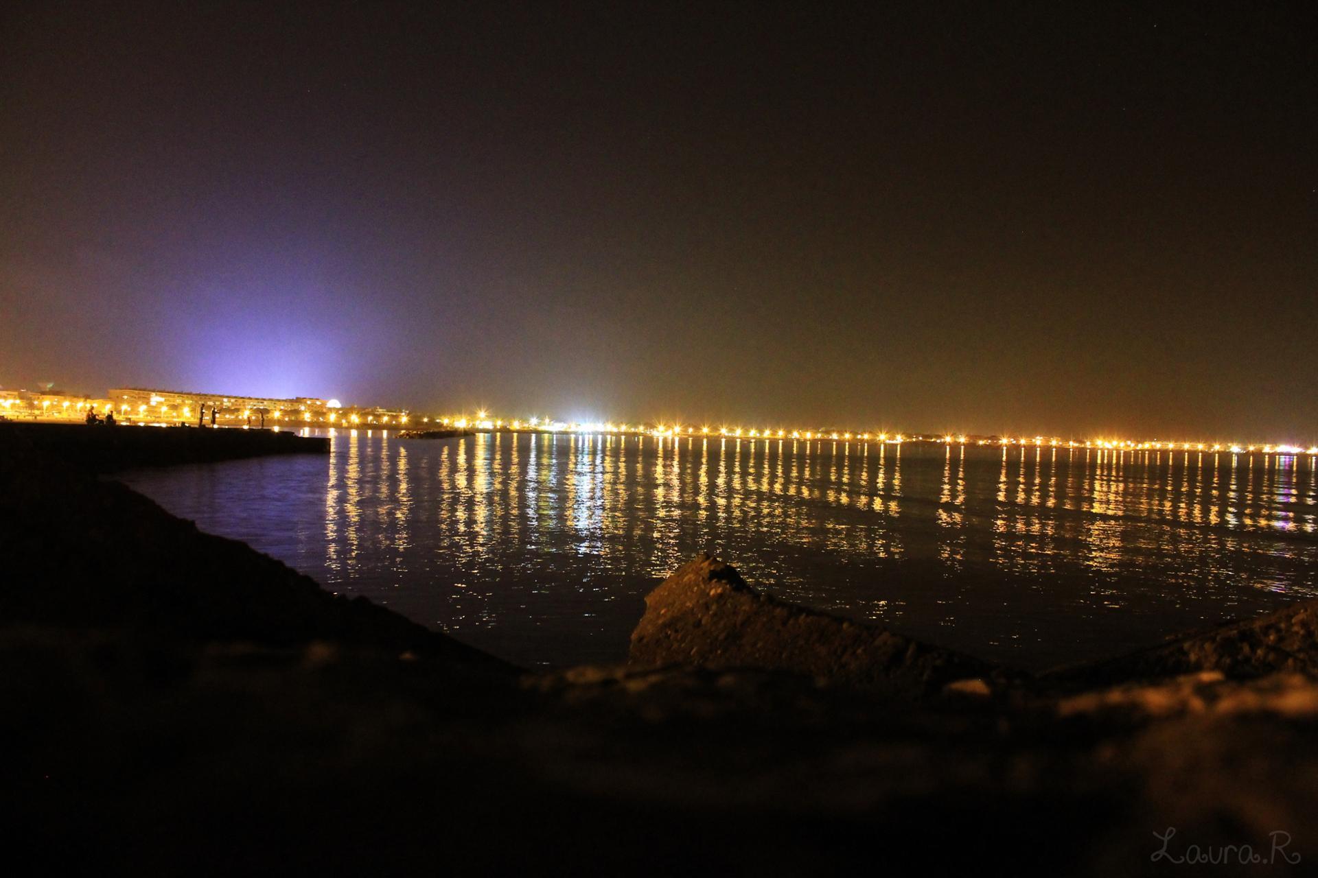 Lumières dans la nuit ...