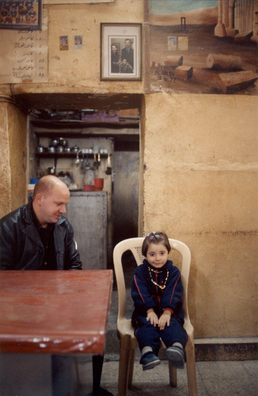 Père et fille - Palmyre, Syrie 2004 -