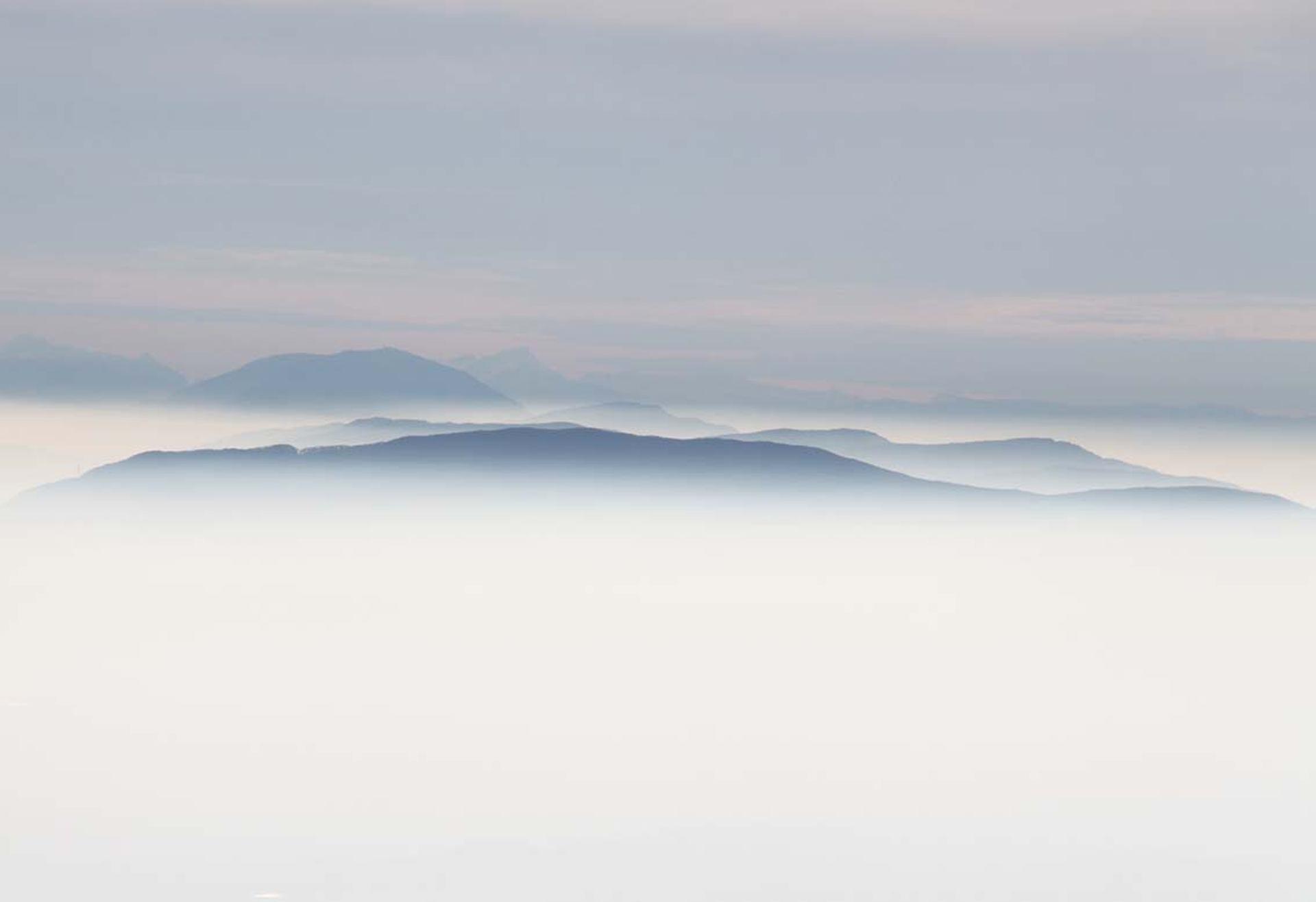 Brouillard sur la vallée