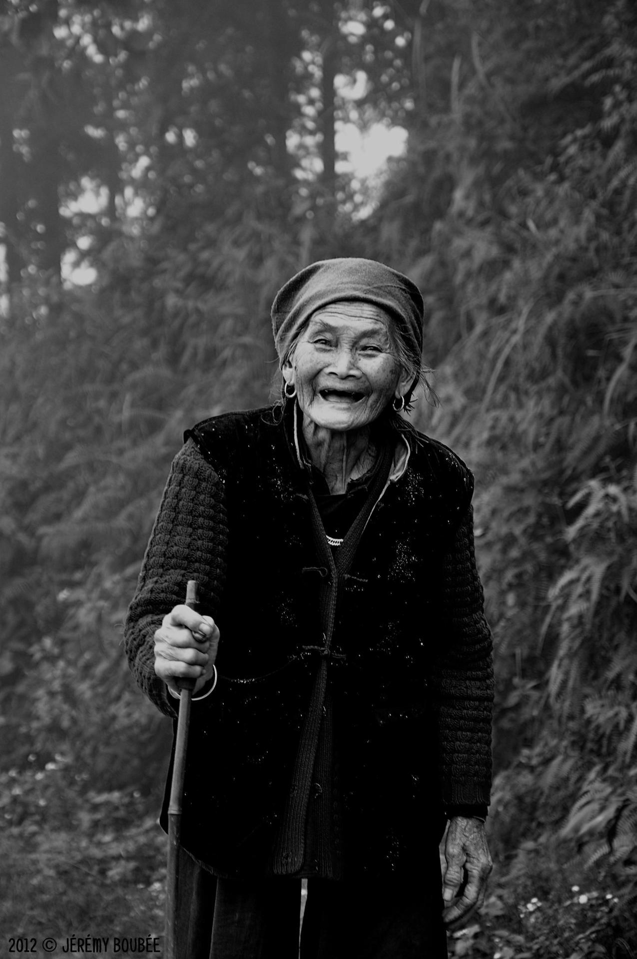 Sourire D'Une Âme En Paix