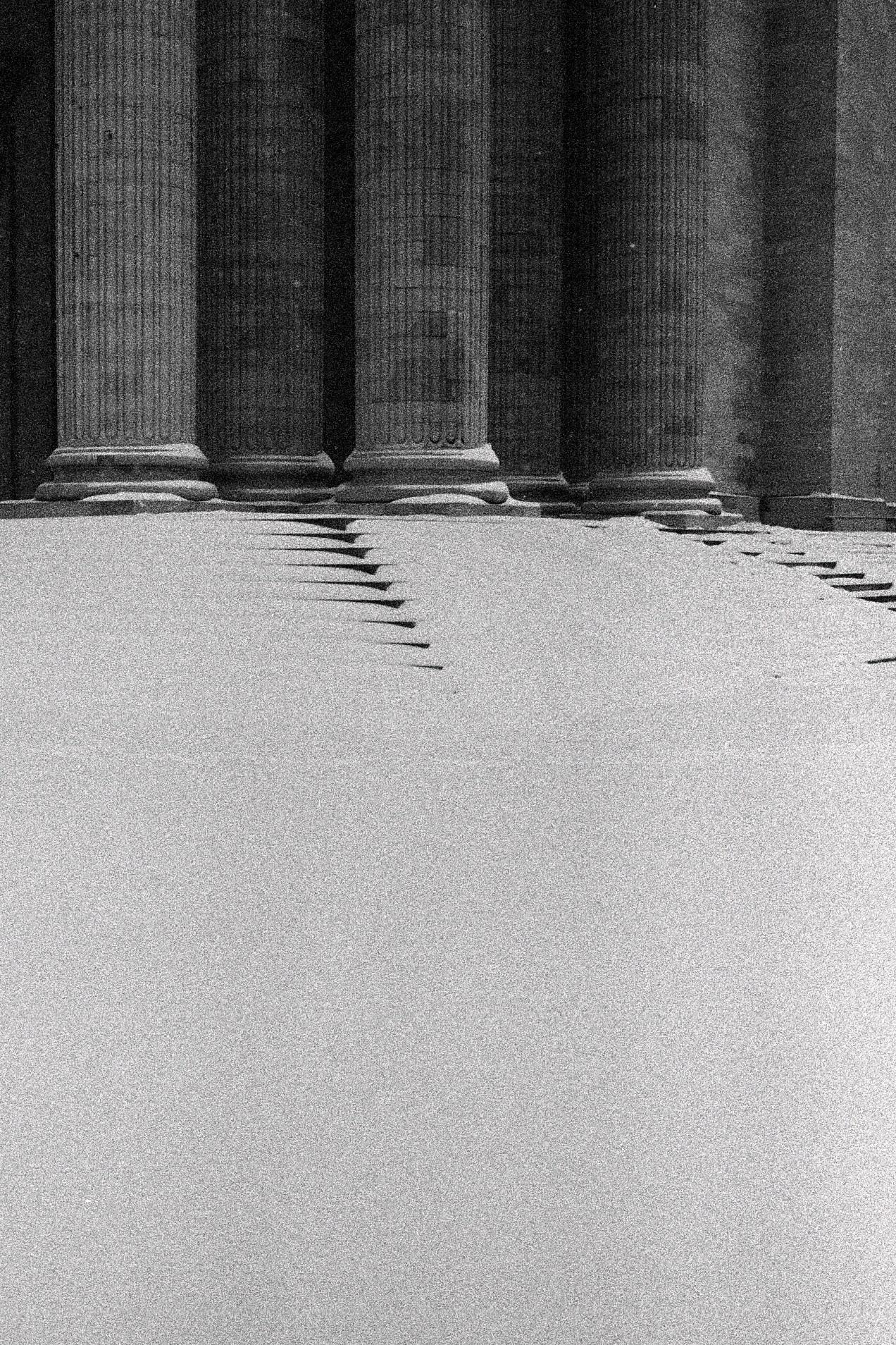 Snow in Pantheon