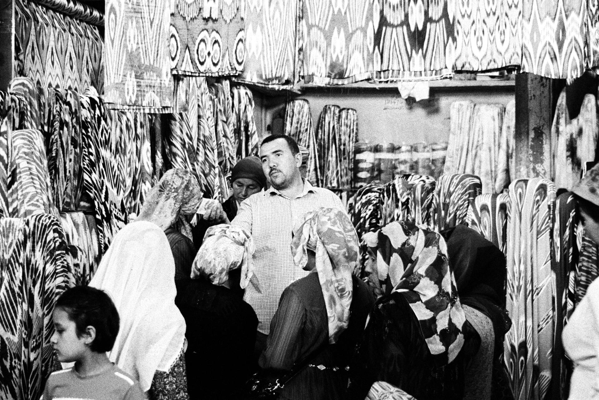 Workers 7 - le vendeur de tissu