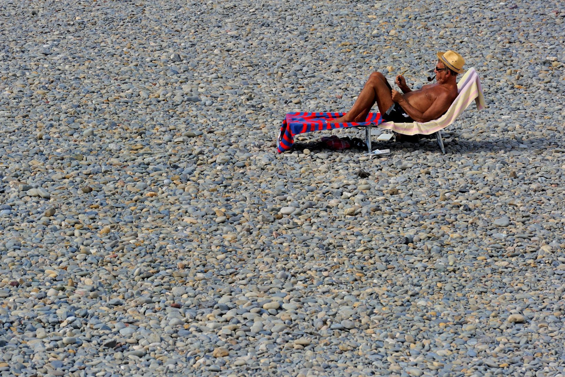 Occuppation de l'été à Nice
