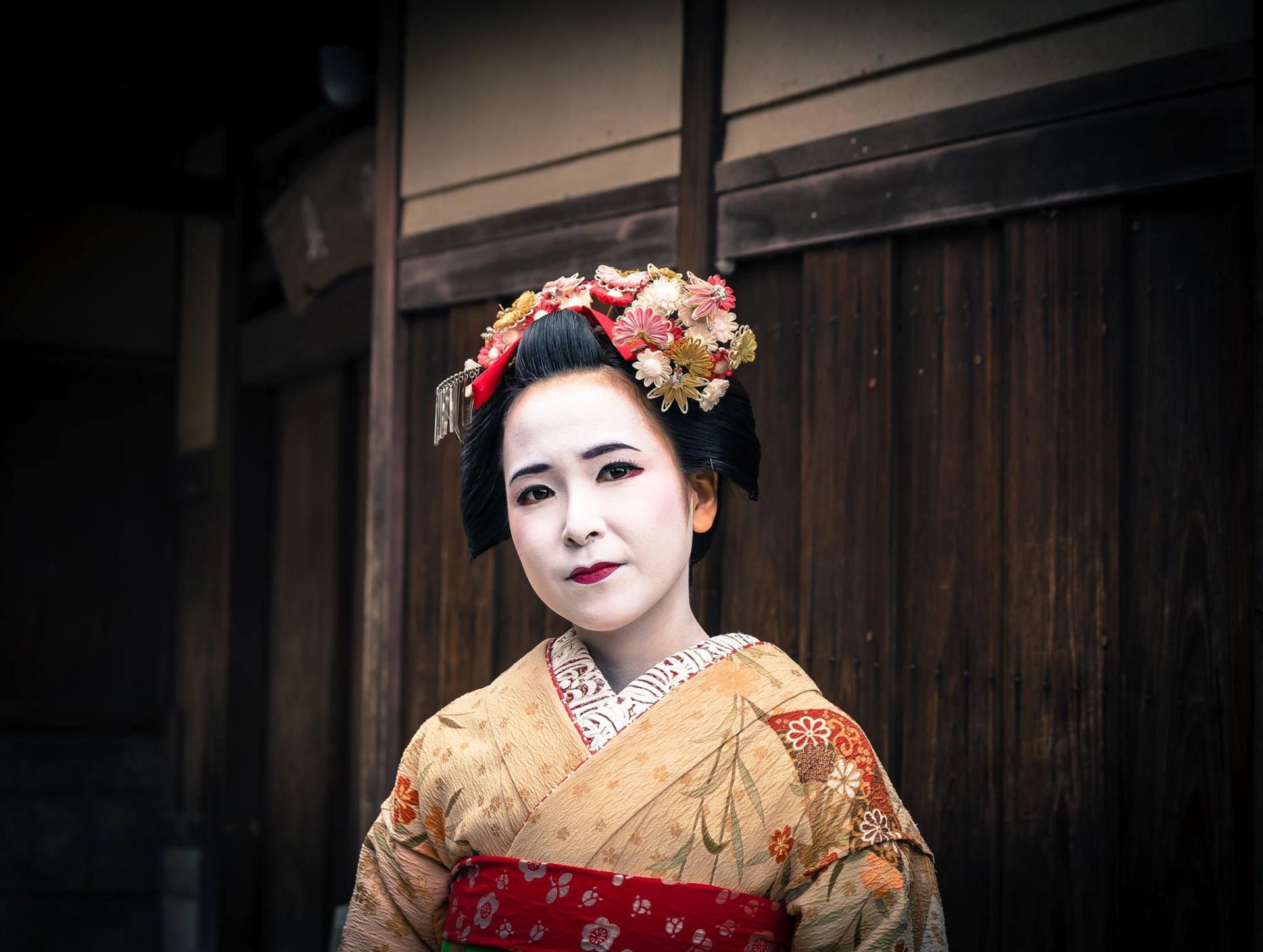 Portrait Japonais  - Rencontre avec une gheisa