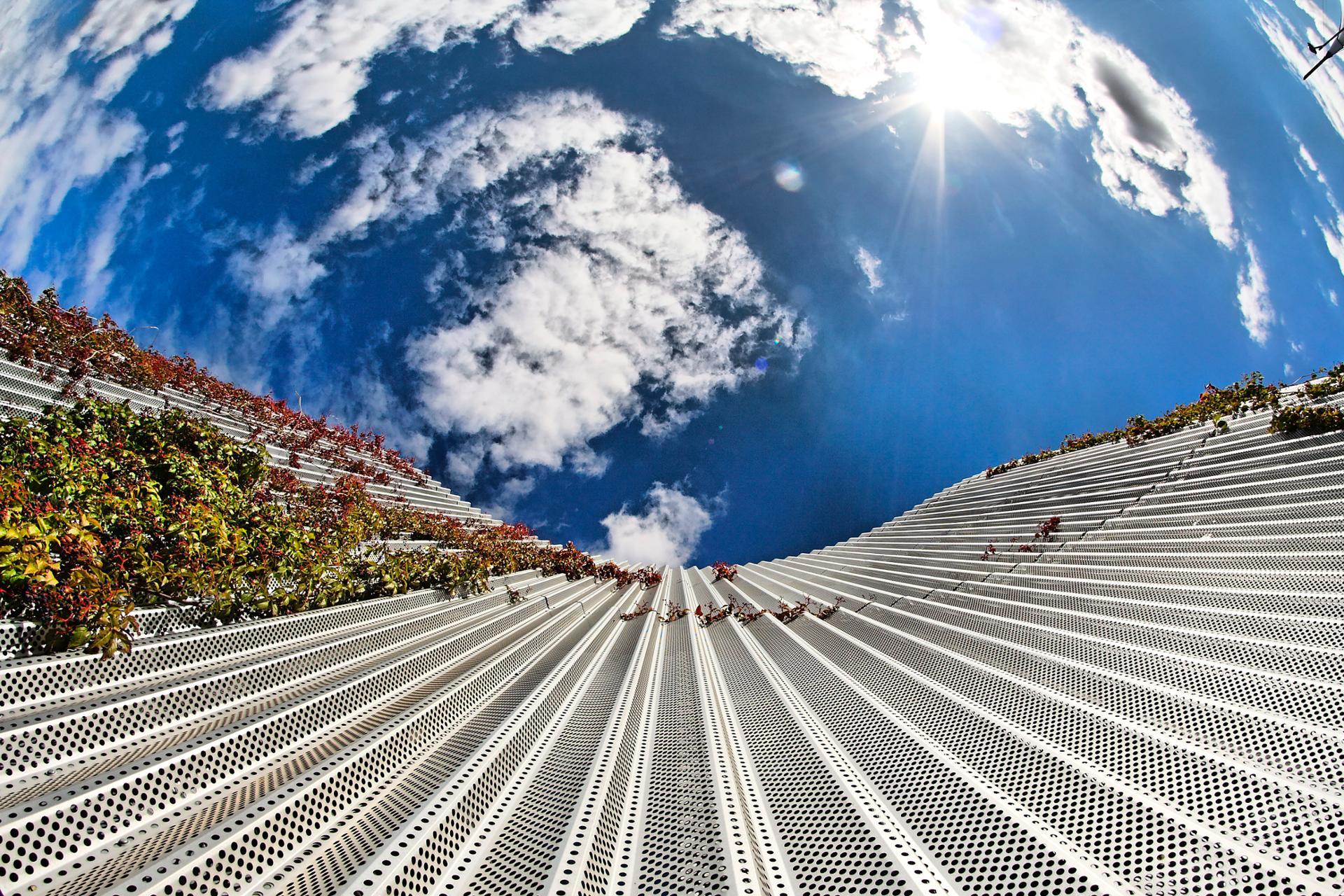 Slide in the sky