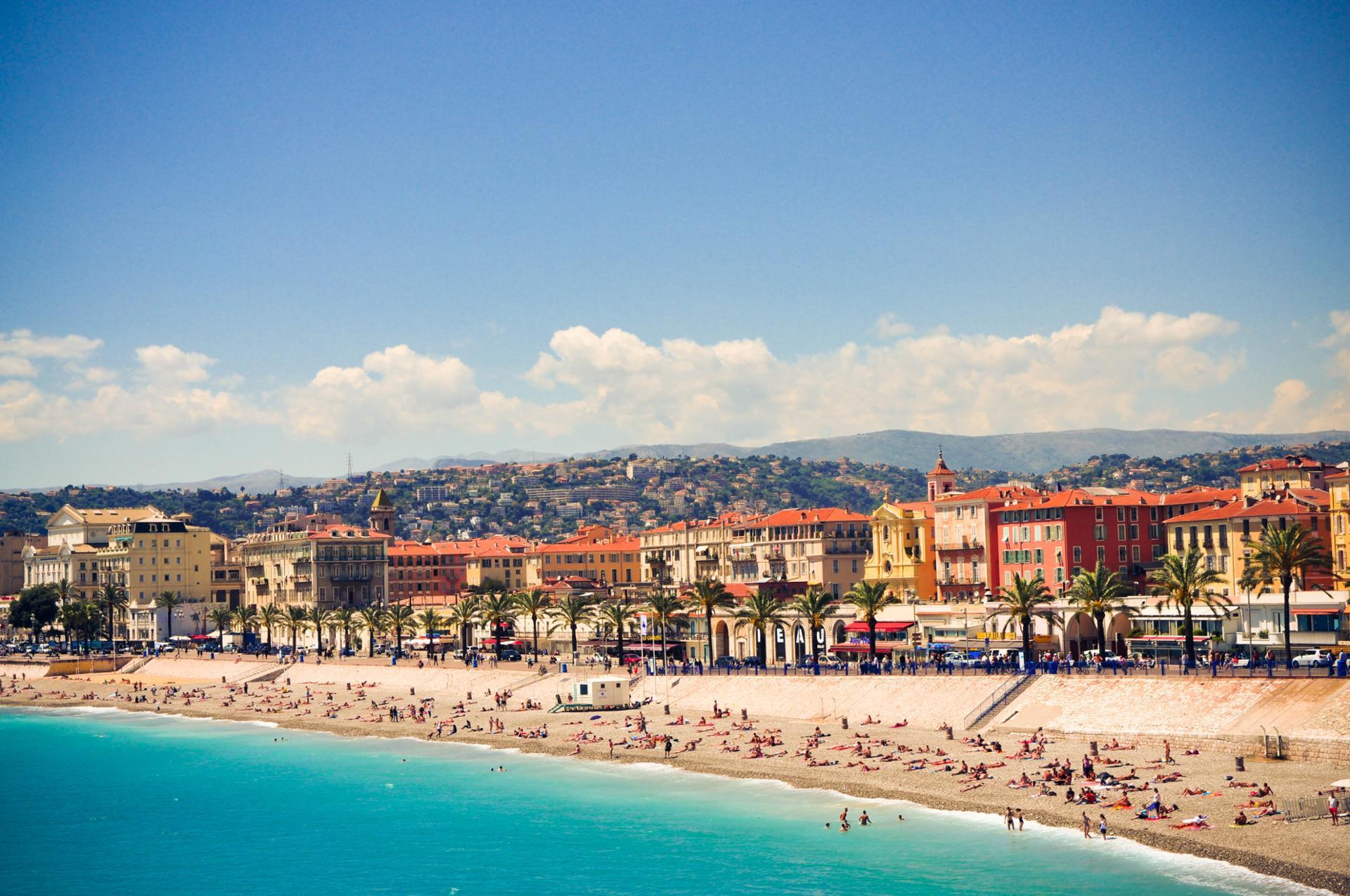 La promenade des Anglais - Nice