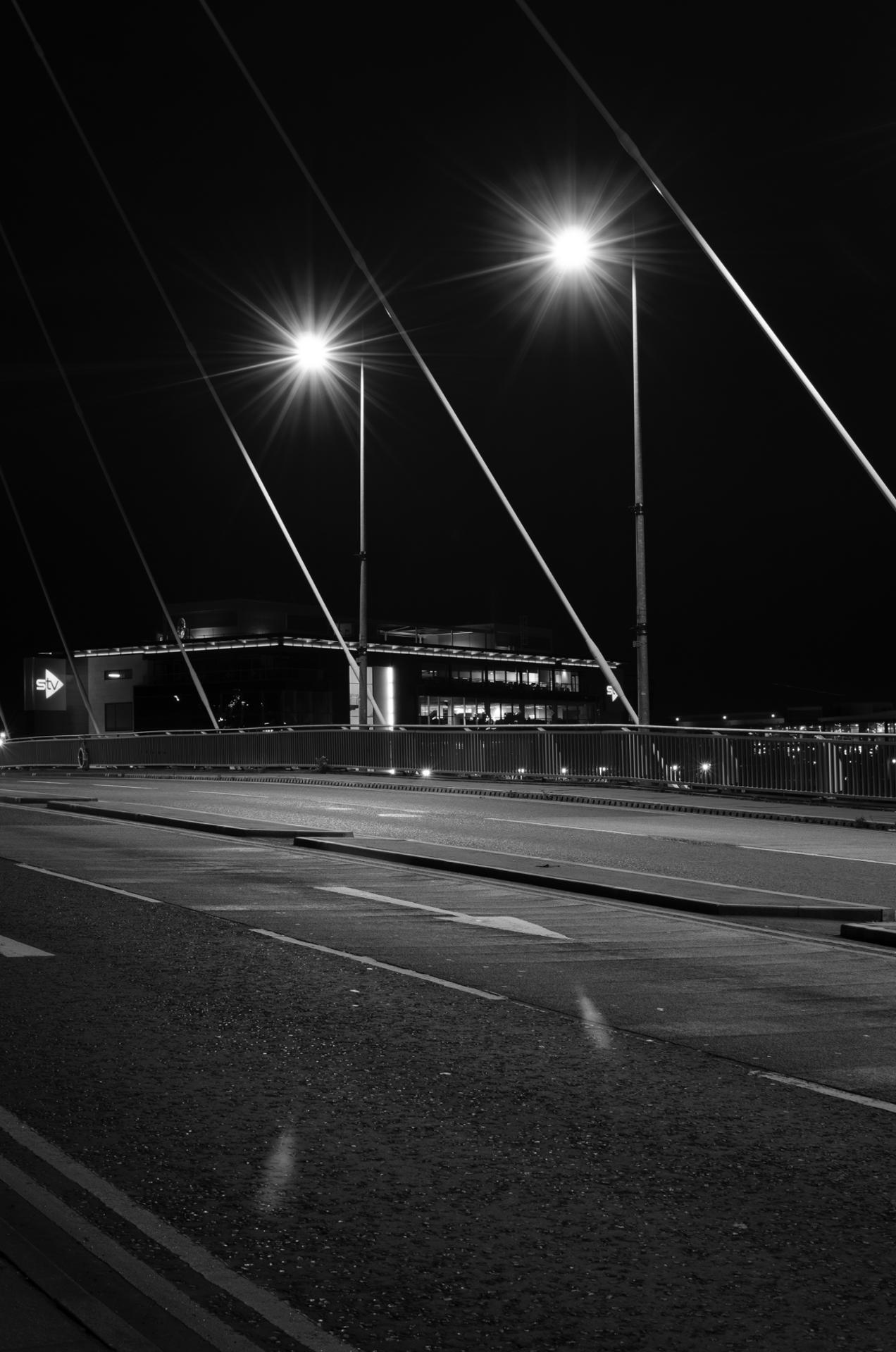 Glasgow by night