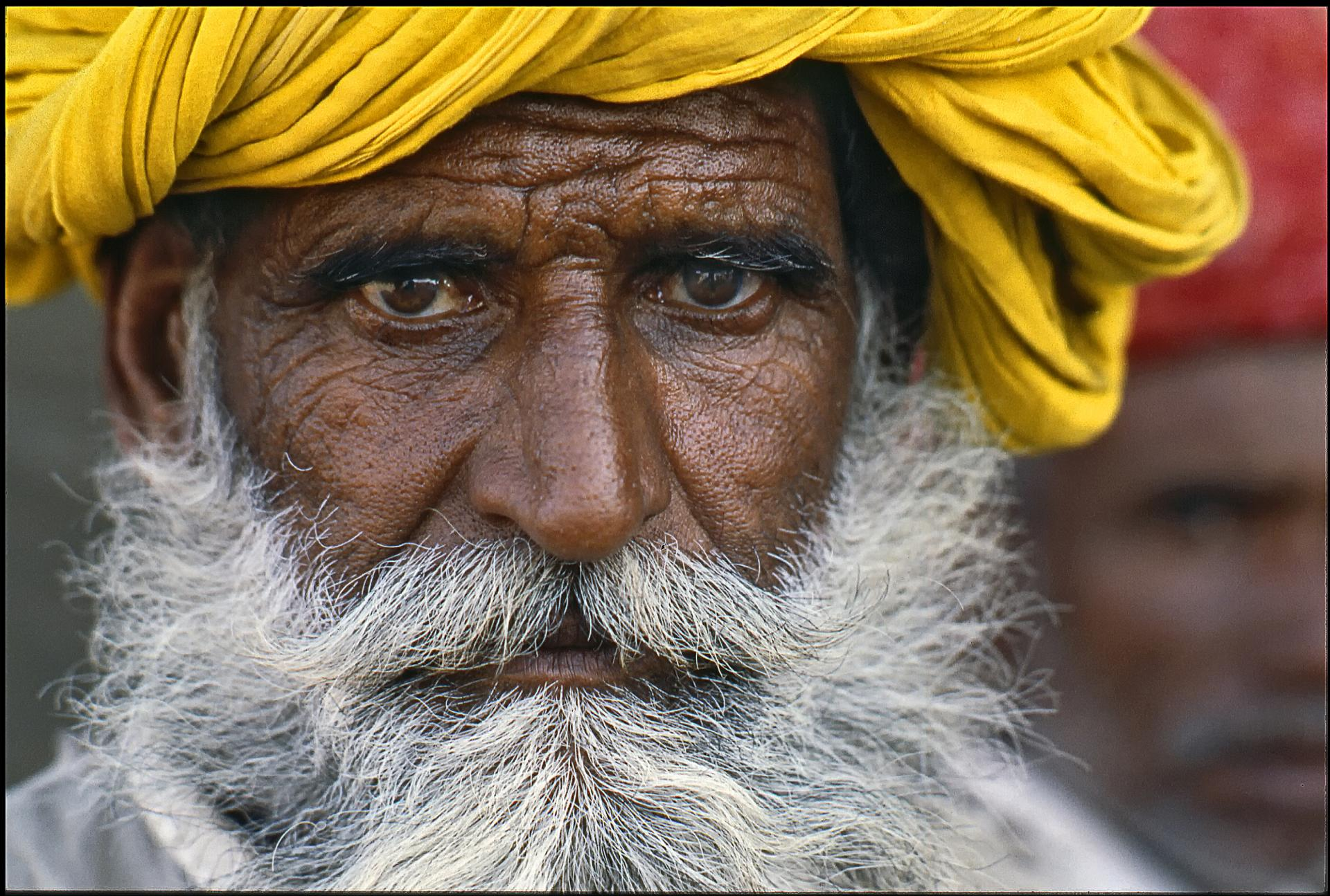 Le turban jaune