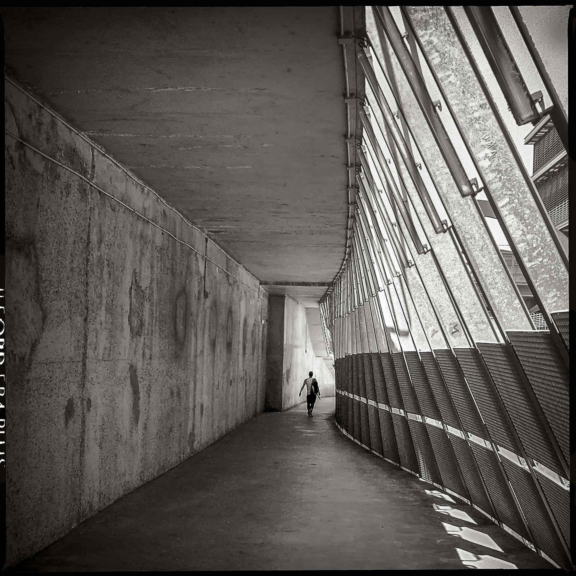 Au couloir du métro