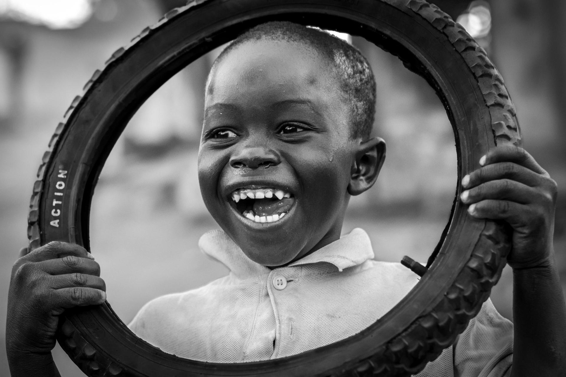 Sourire en roue