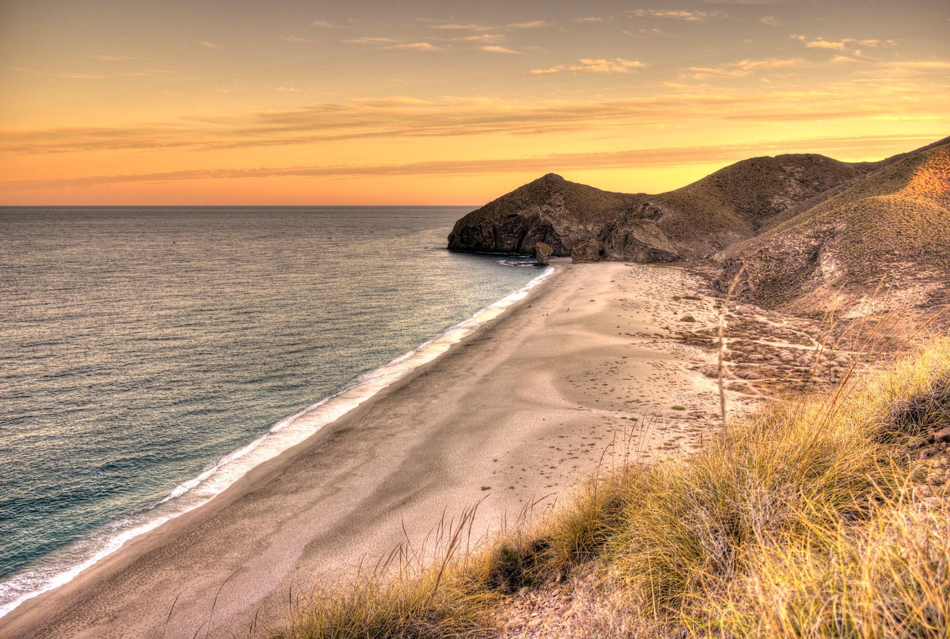 Sunset @ Cabo de Gata (SPAIN)