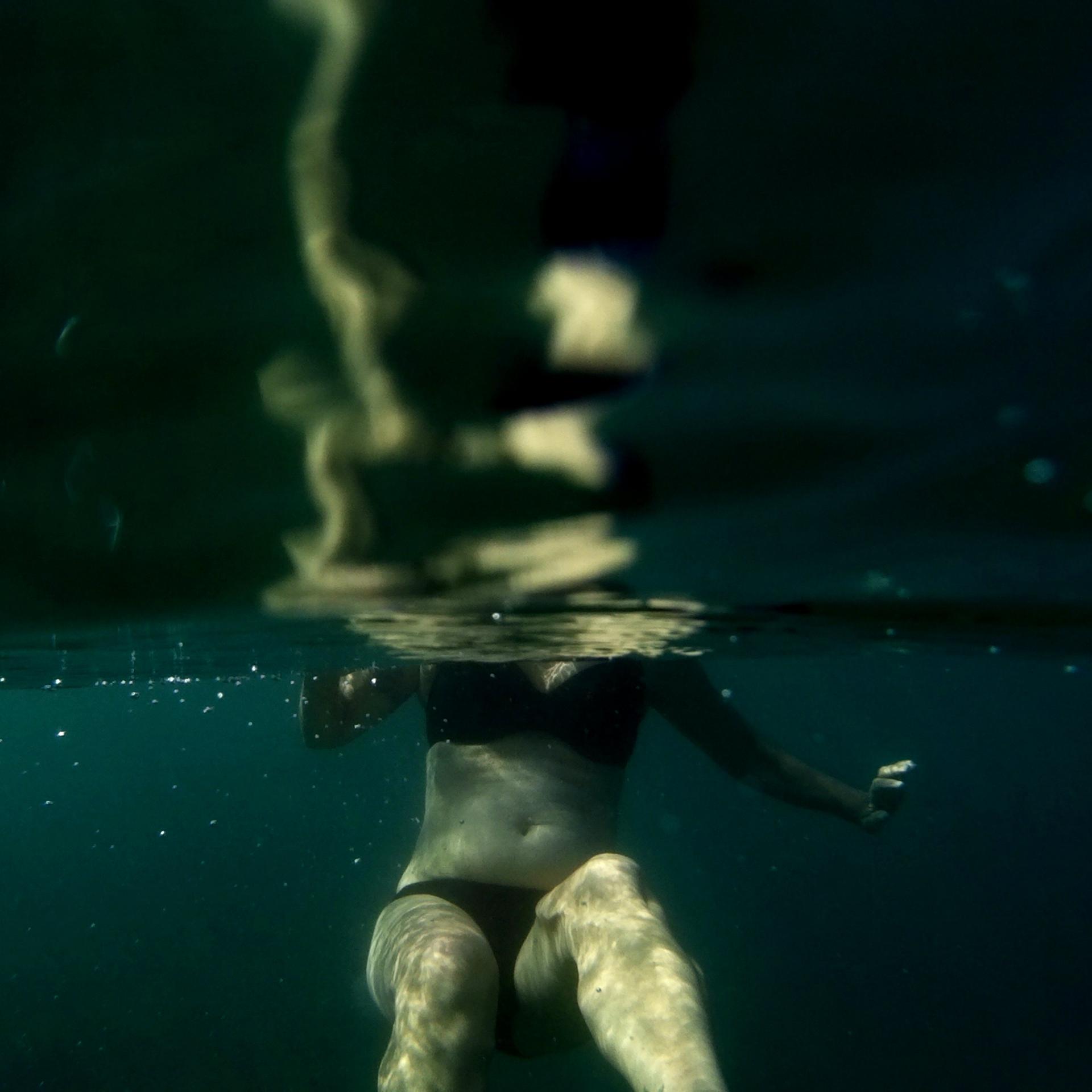 Underwater melancholy