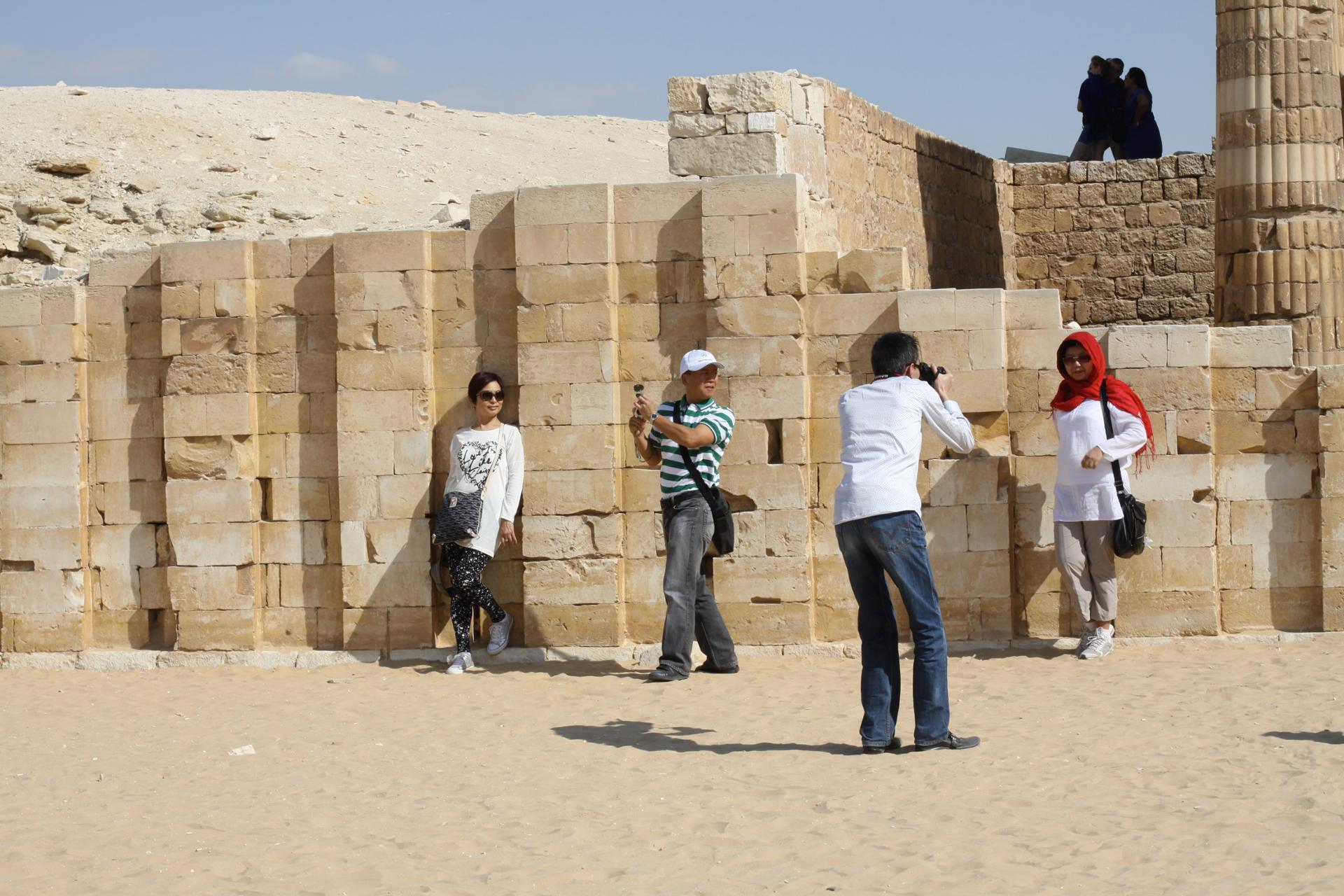 japonais en egypte, novembre 2010