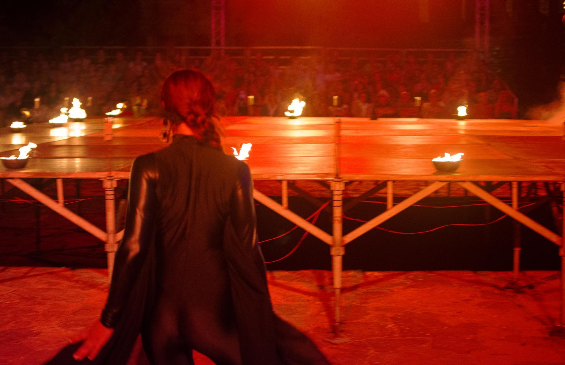 Danseuse du feu