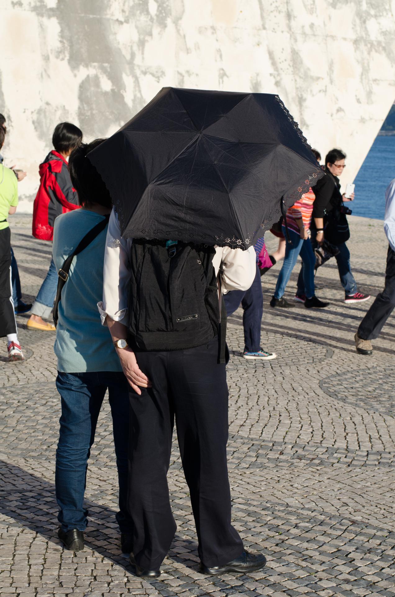 Les touristes à Lisbonne