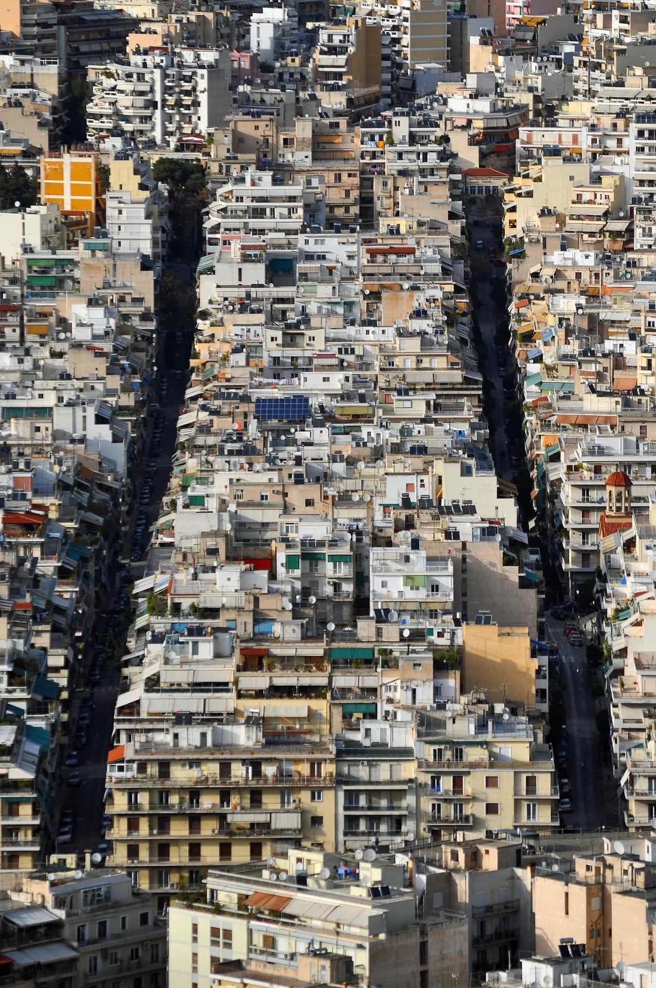 Le chromosome urbain (Athènes)