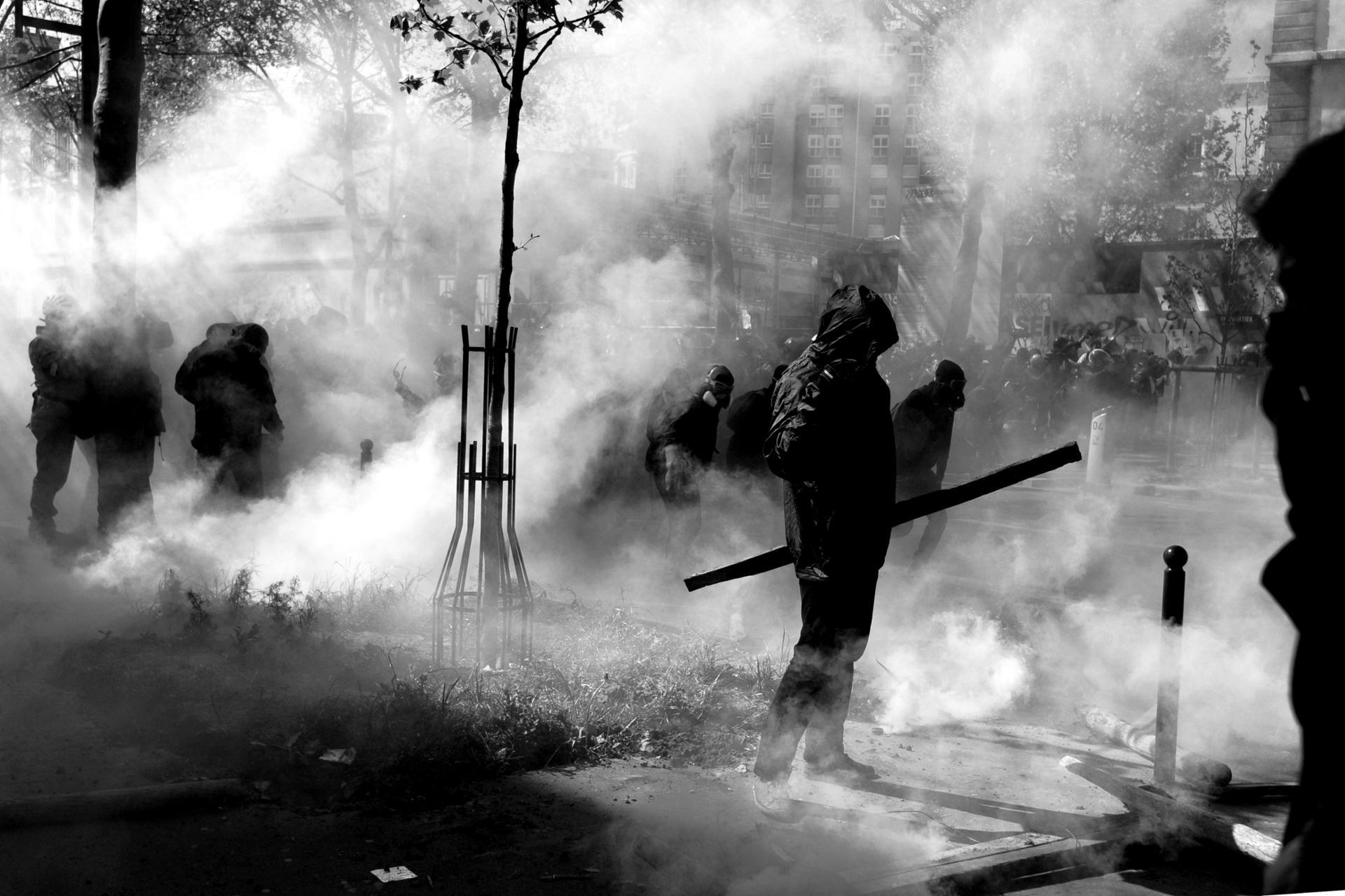 Paris Mai 2016. Manifestation contre la loi travail.