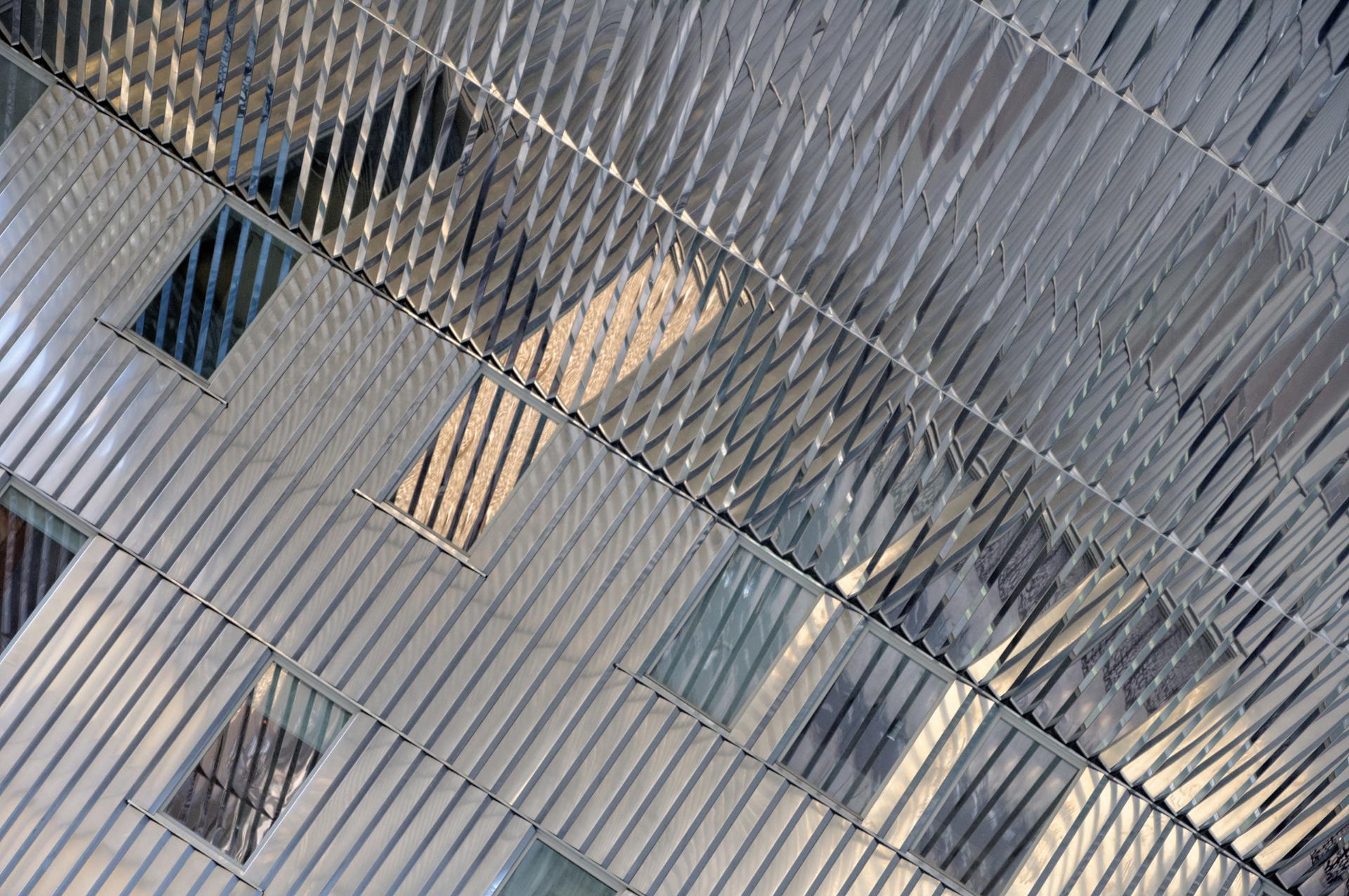 Reflets urbains tranchants