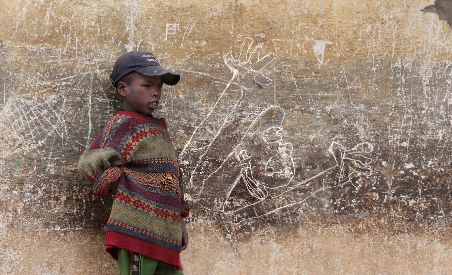 Guernica tag africain.