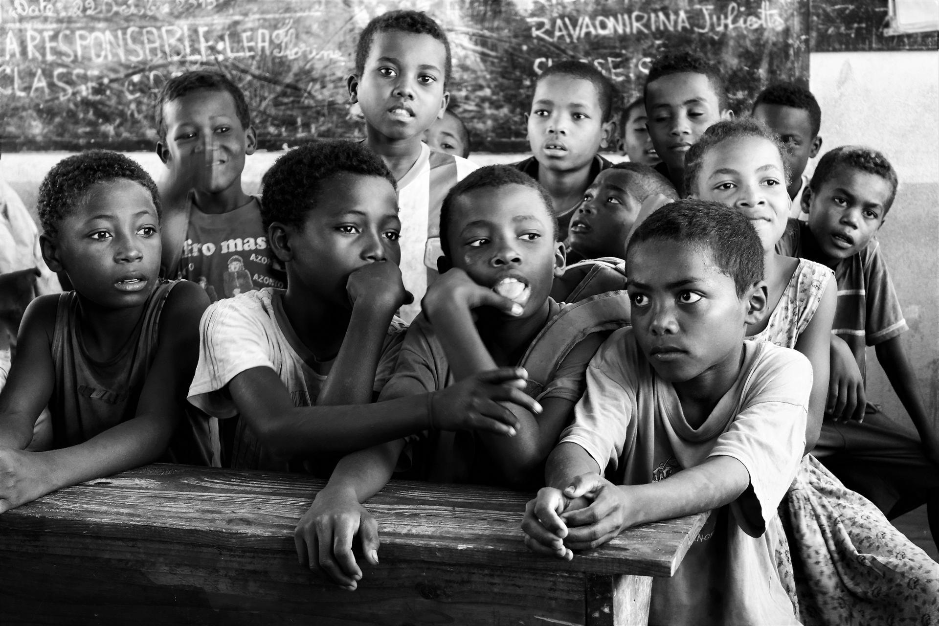 Visite de l'école d'Ambolomailaka.