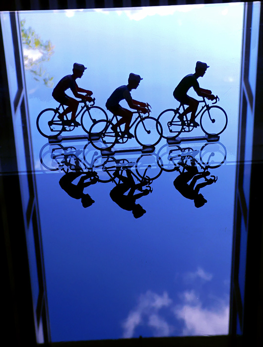 Bicycle the sky