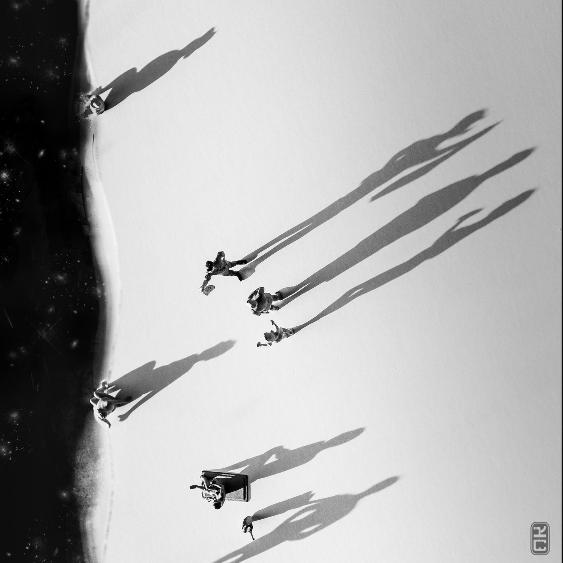 Les franges étoilées