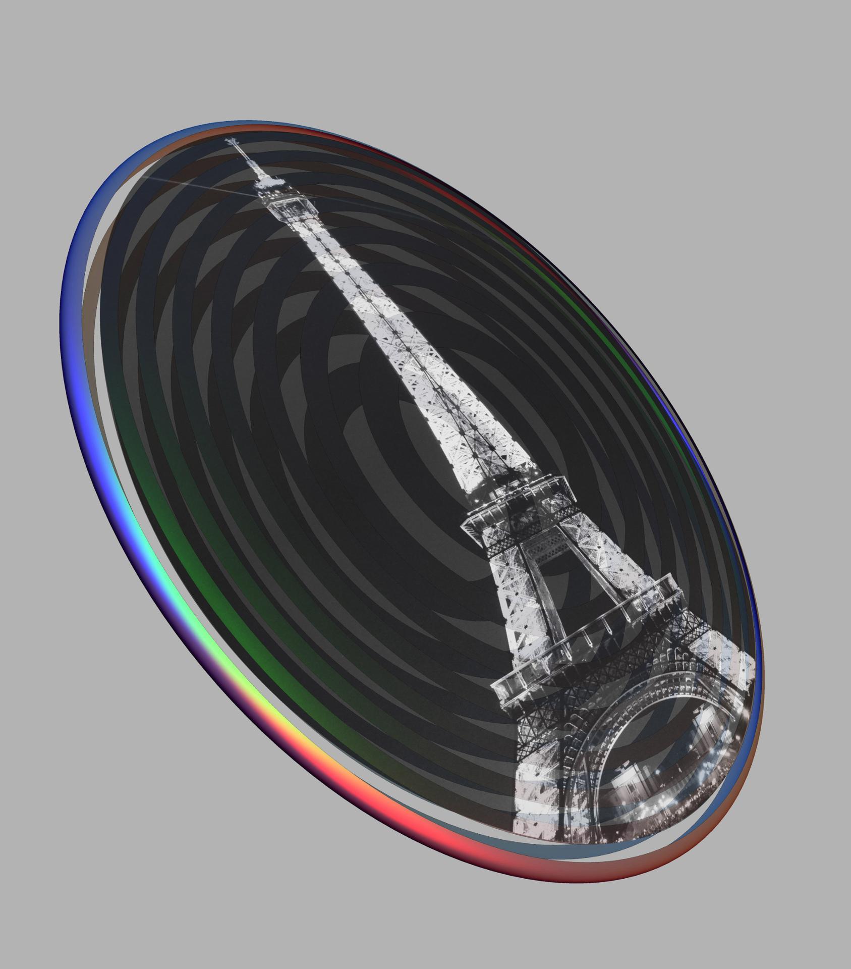 Geometry+Photography+Paris=Badge