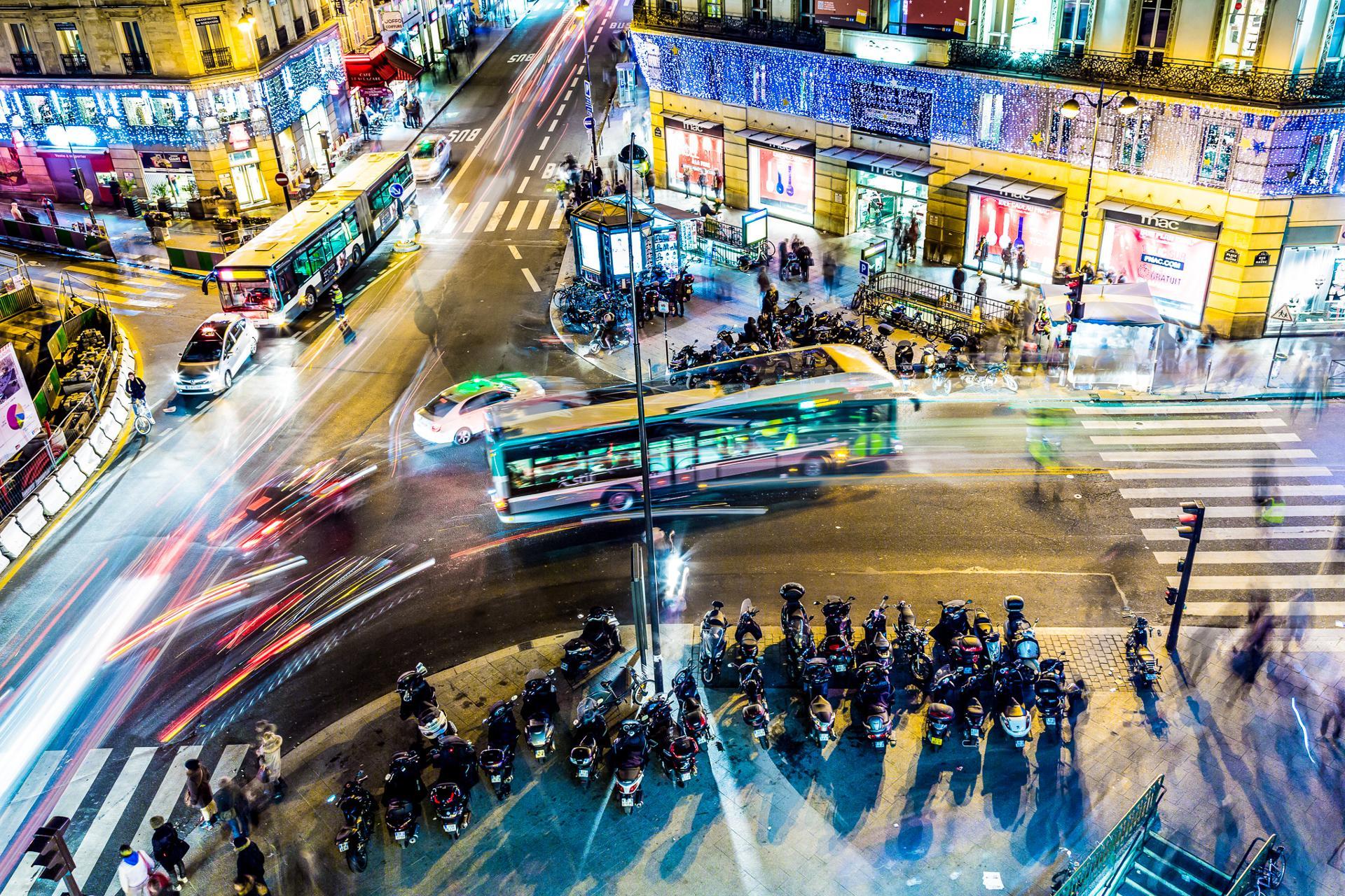 Saint-Lazare : Trafic de nuit