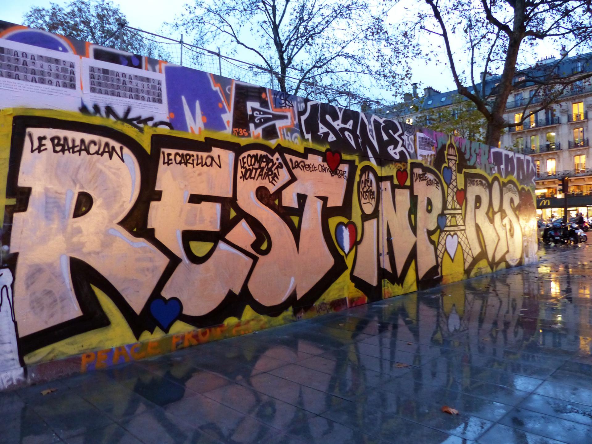 Rest in Paris