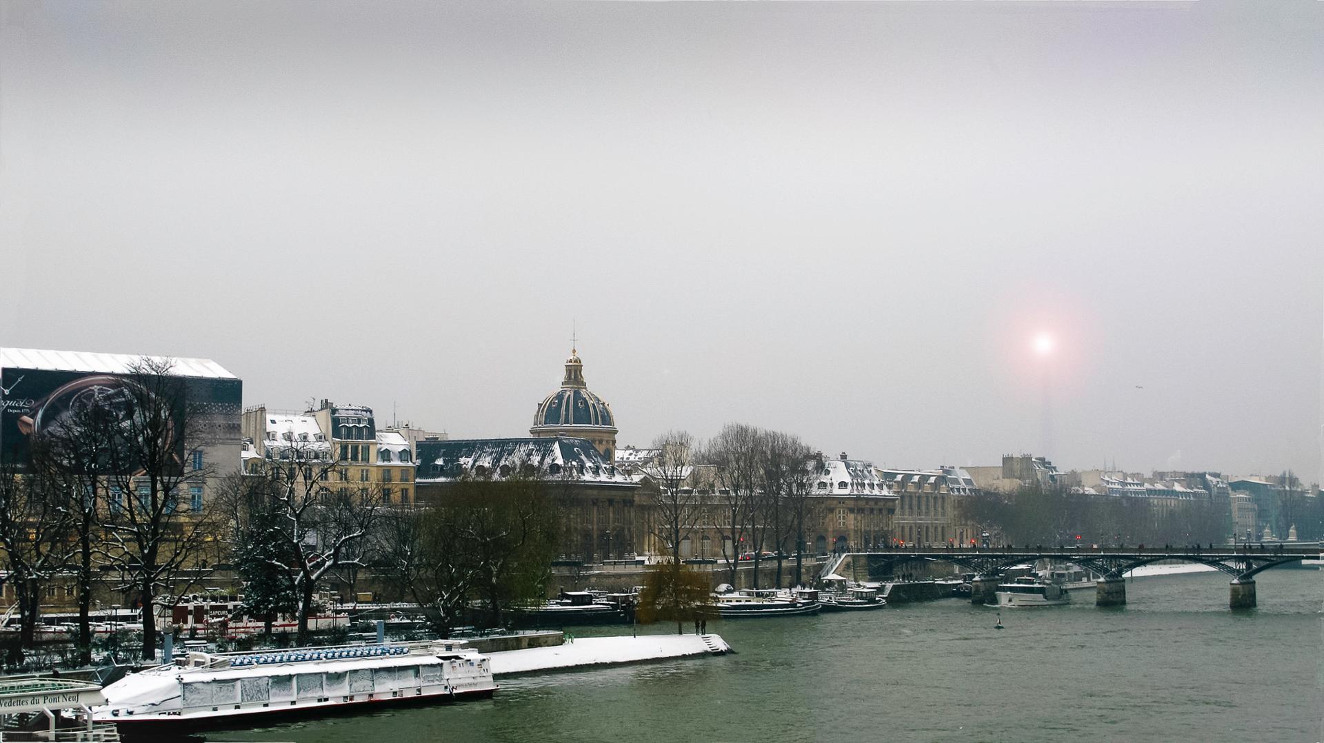 NEIGE à PARIS.