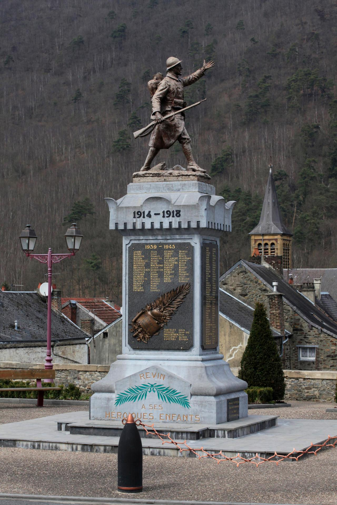 REVIN-ARDENNES-1914-1918