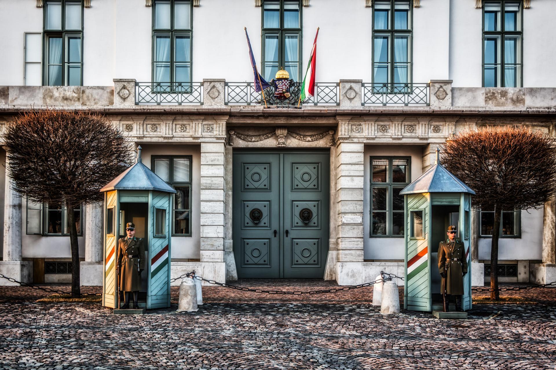Budapest Palais Sándor : Résidence officielle du président