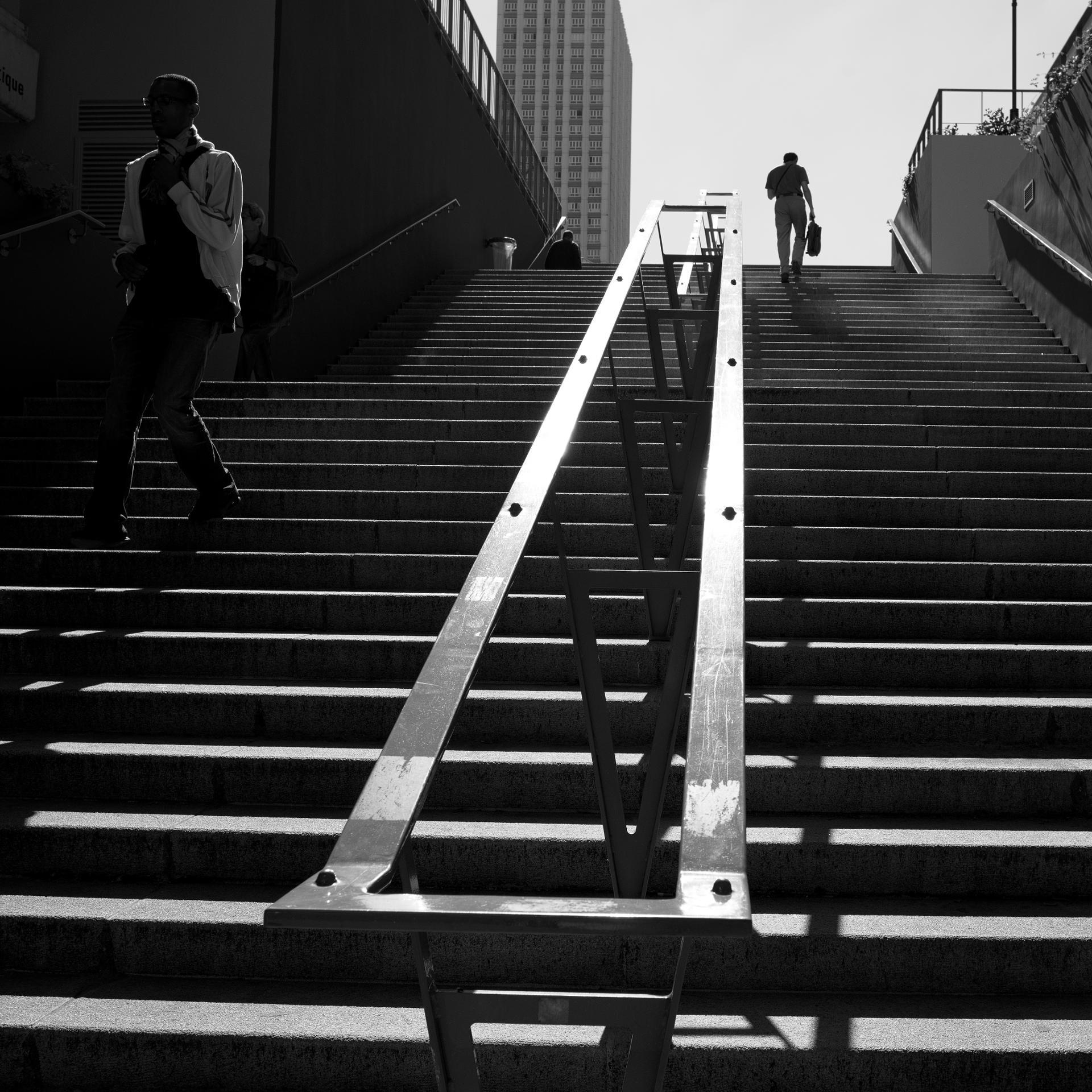 Suivez la rampe...