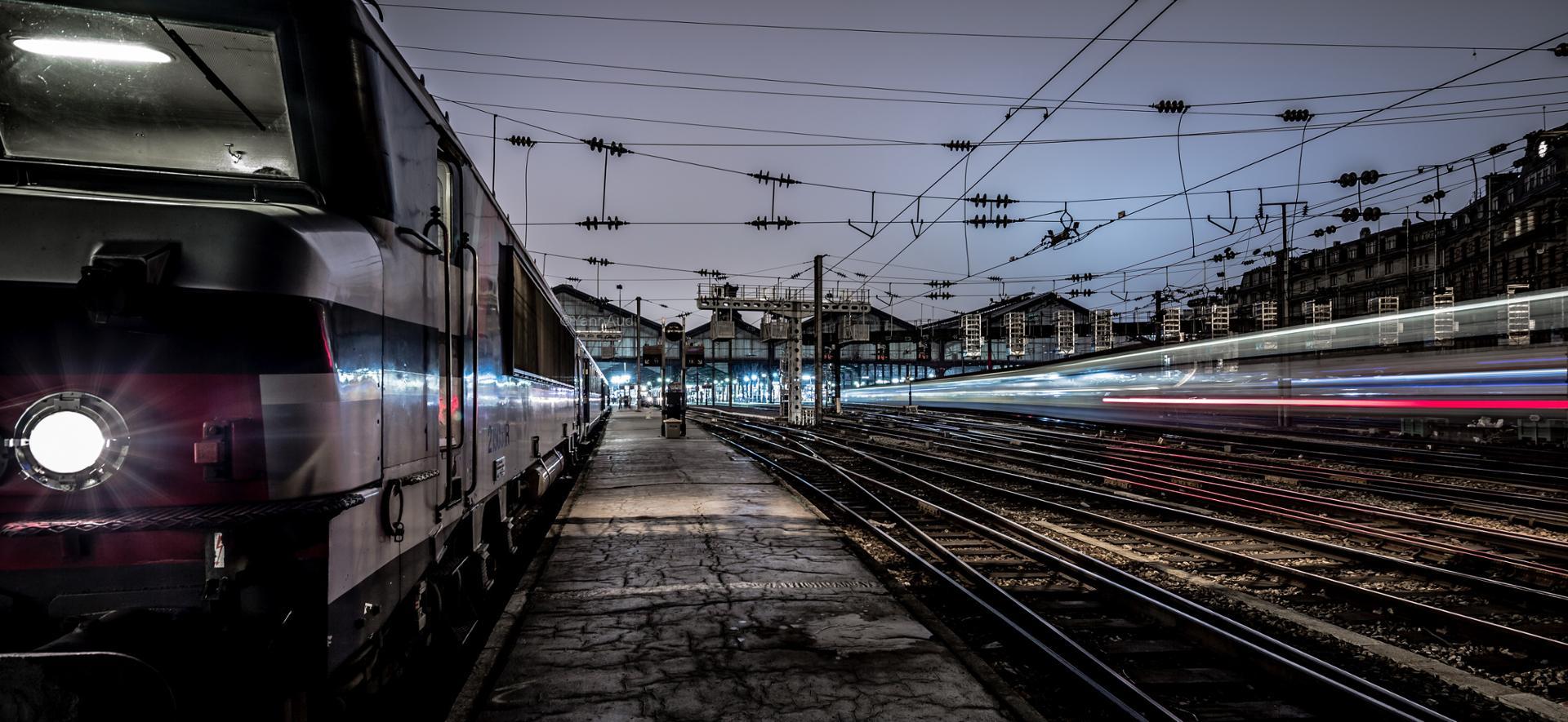 A la gare St-Lazare