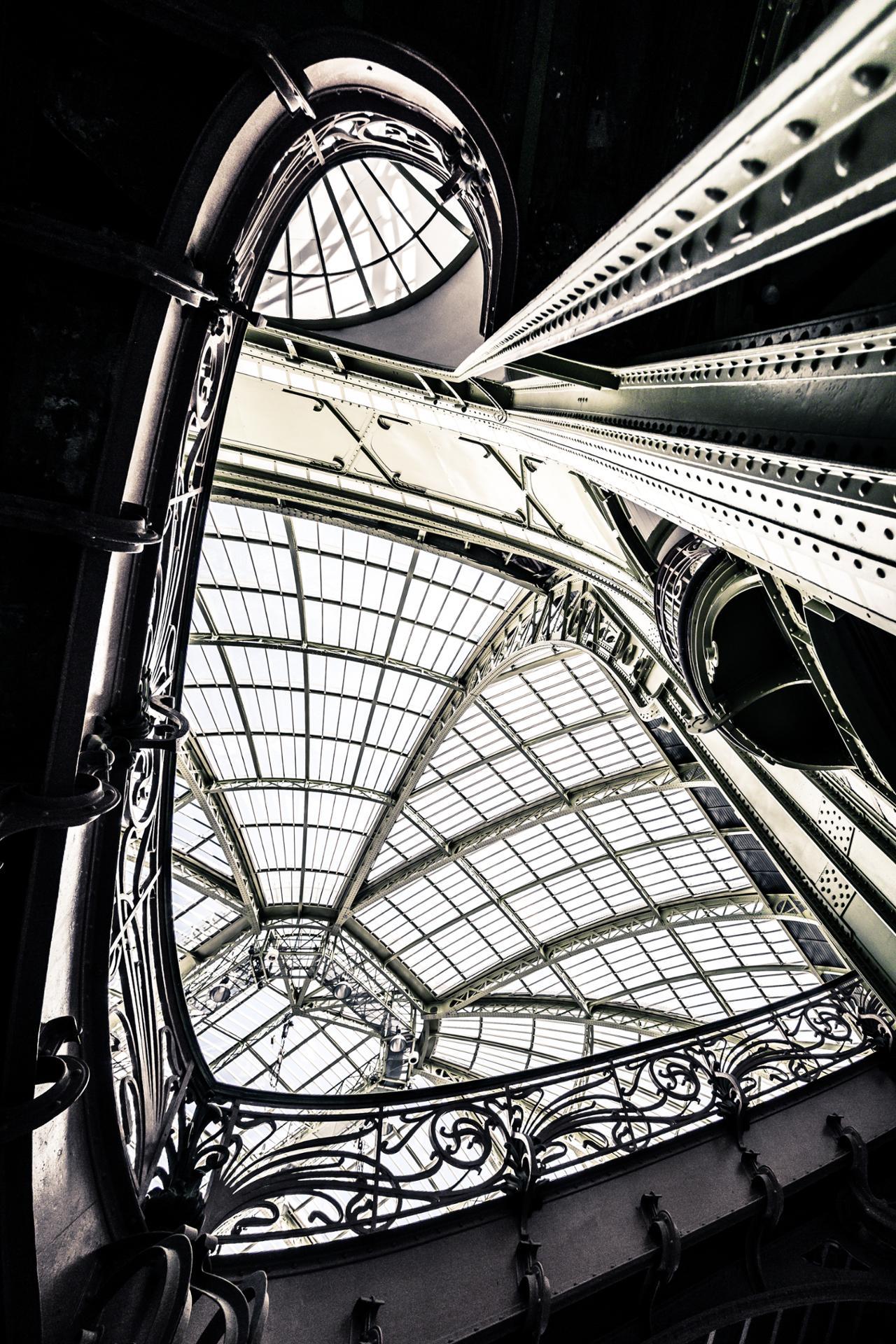 Dans la Nef du Grand-Palais