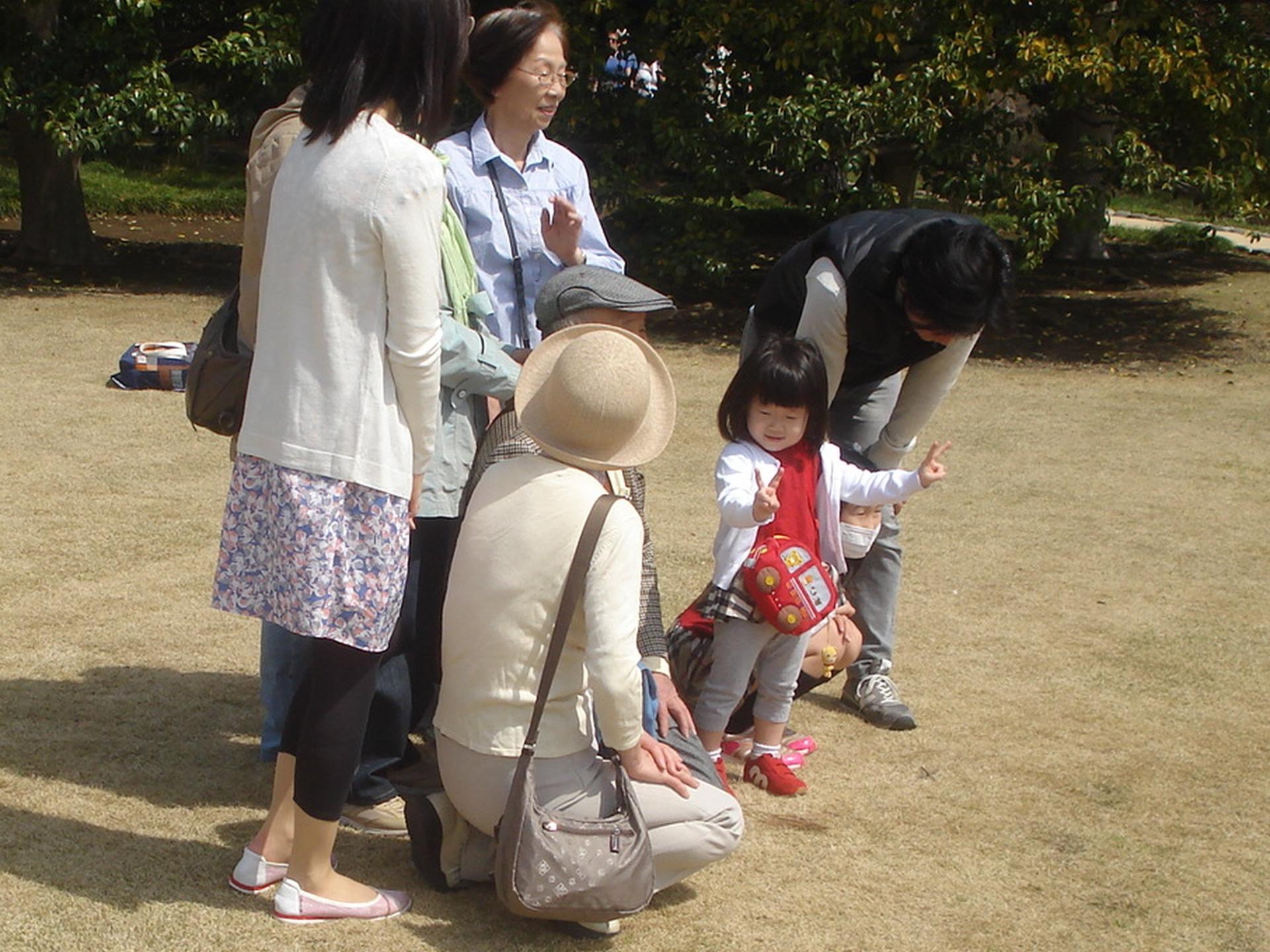 Préparation pour la pause photo, Tokyo