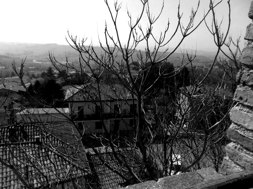 Gradara black & white