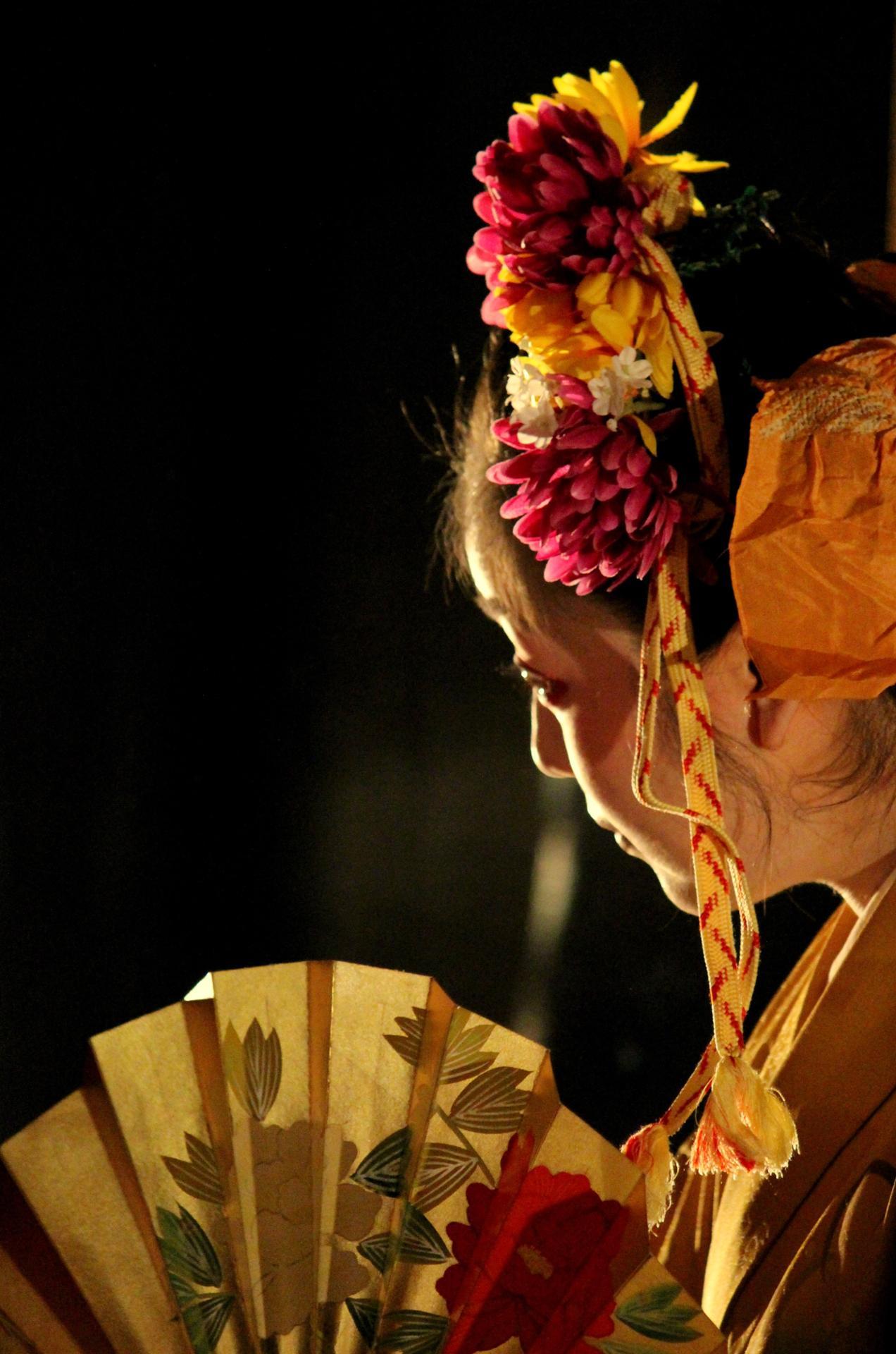 danse traditionnelle japonaise Tokyo photo jean couturier