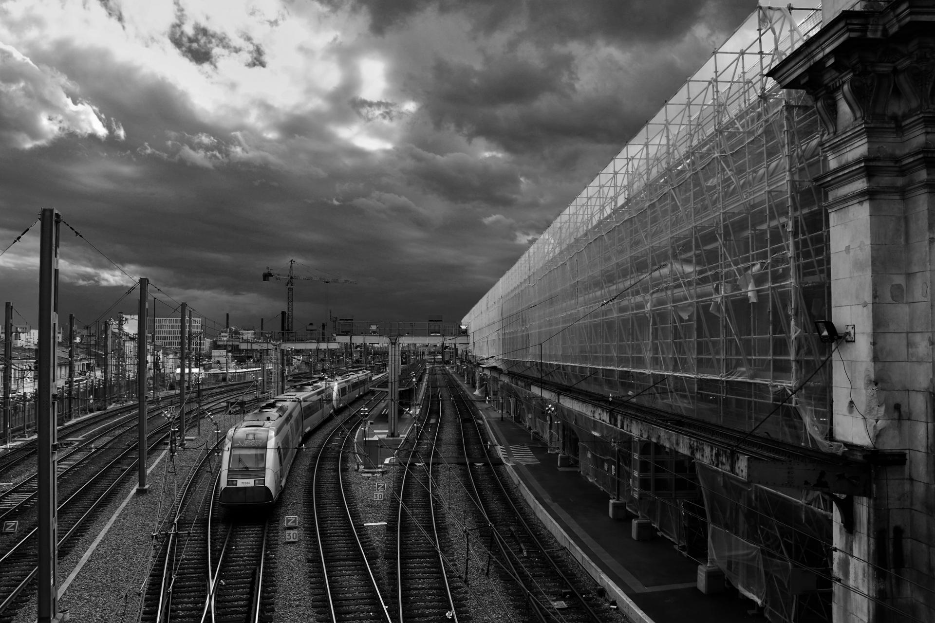 Gare lugubre
